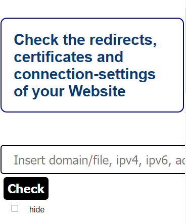the mysteryofisrael org - Make your website better - DNS, redirects