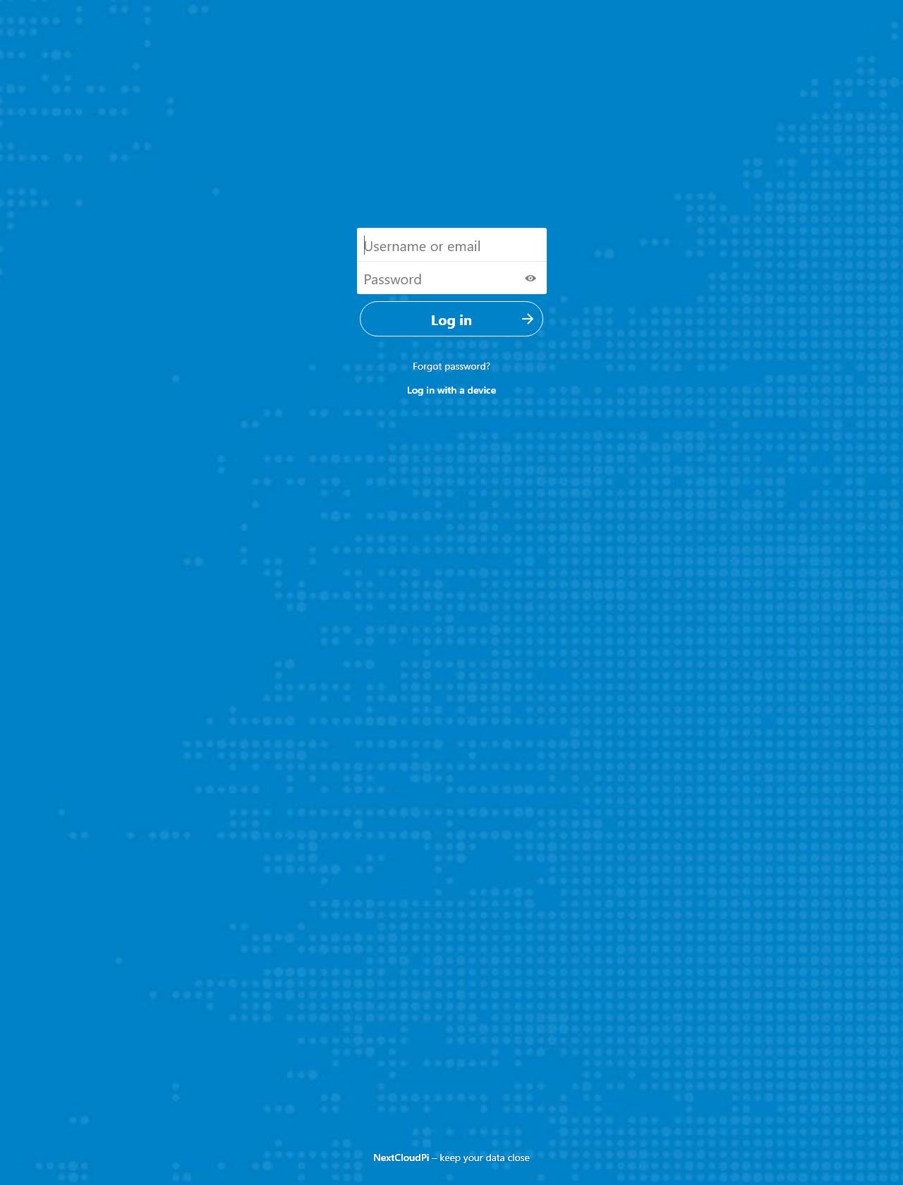 Screenshot Desktop - https://0185dmj4711.goip.de/index.php/login