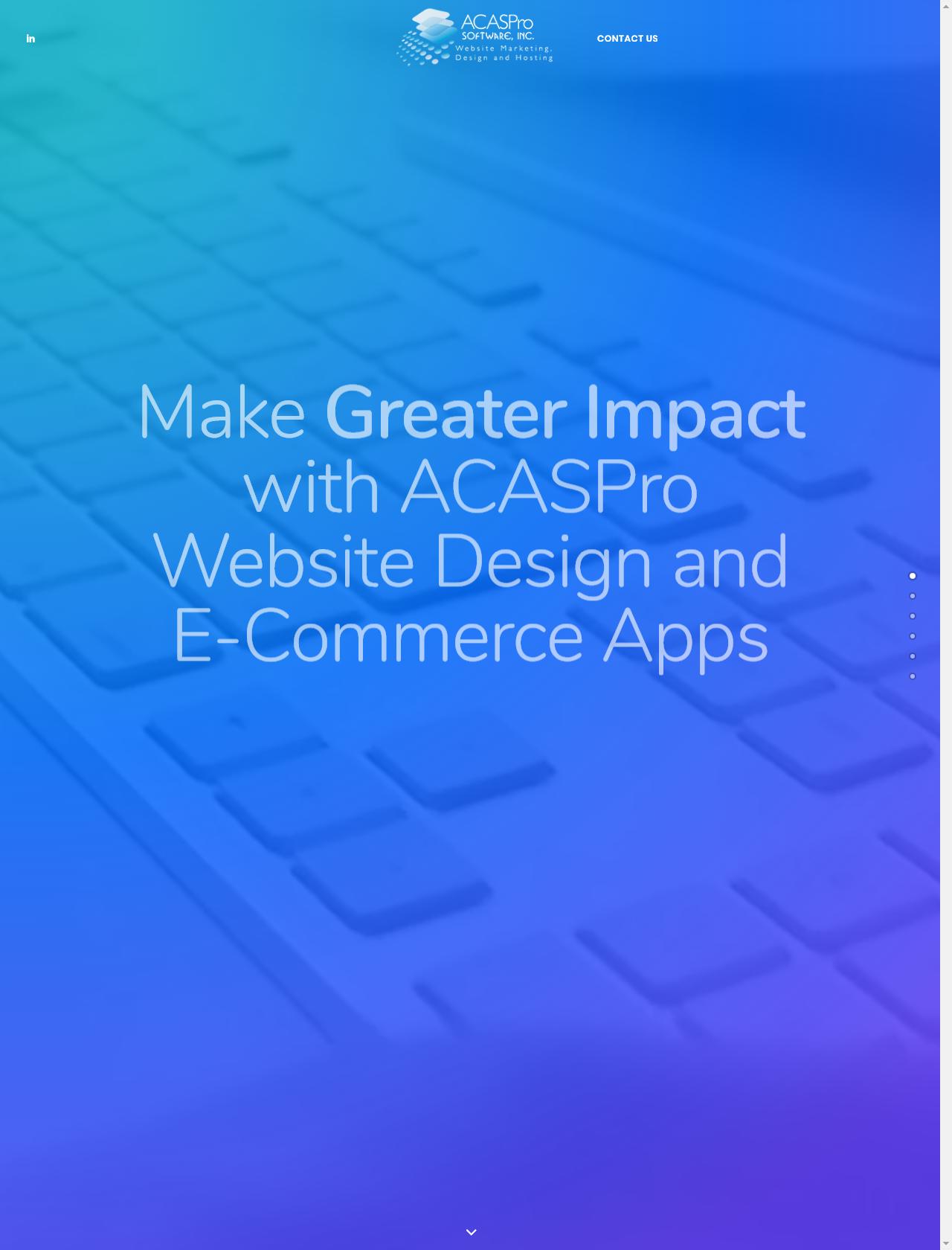Screenshot Desktop - https://acaspro.com/