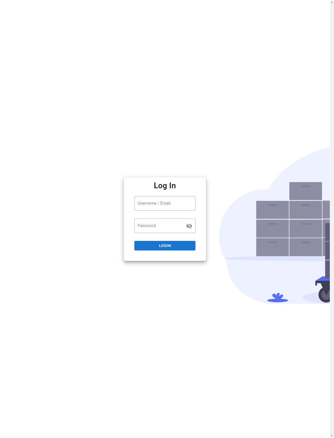 Screenshot Desktop - https://admin.thnkj.com/login