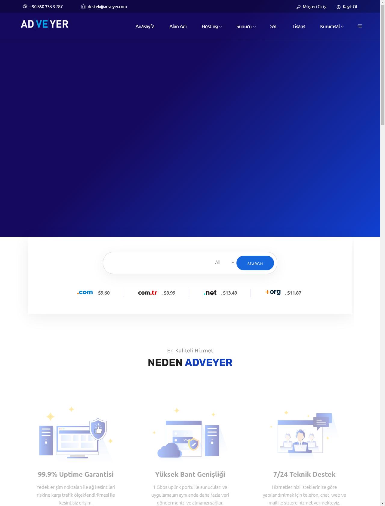 Screenshot Desktop - https://www.adveyer.com/