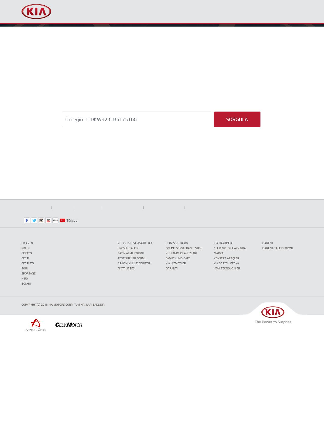 Screenshot Desktop - https://aksiyonsorgulama.kia.com.tr/
