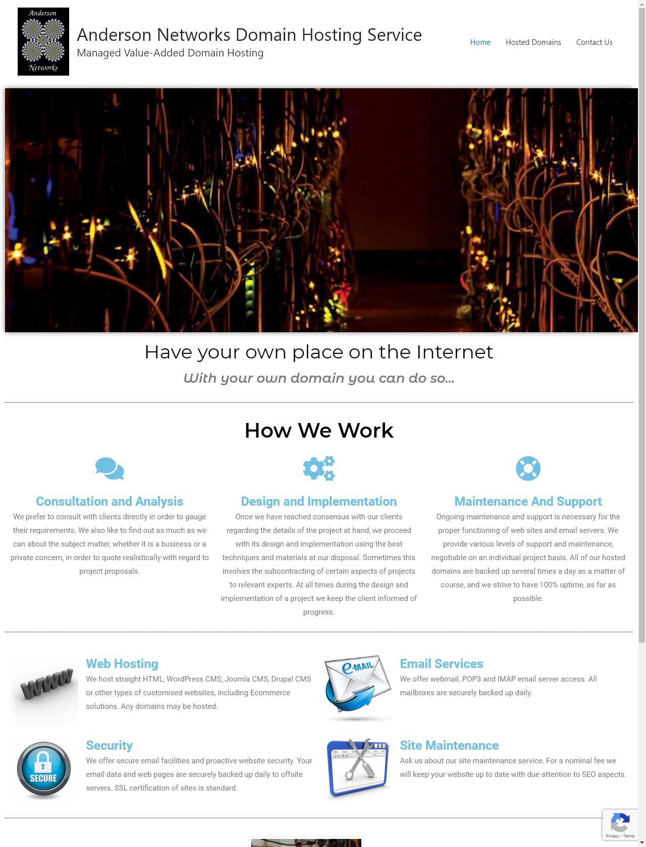 Screenshot Desktop - https://andersonwebhost.com/