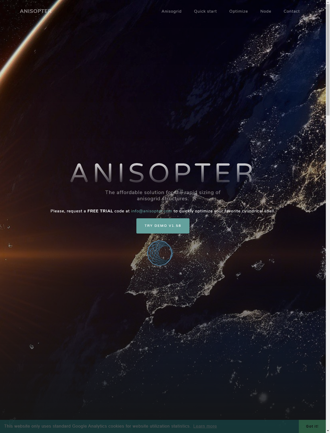 Screenshot Desktop - https://anisopter.com/
