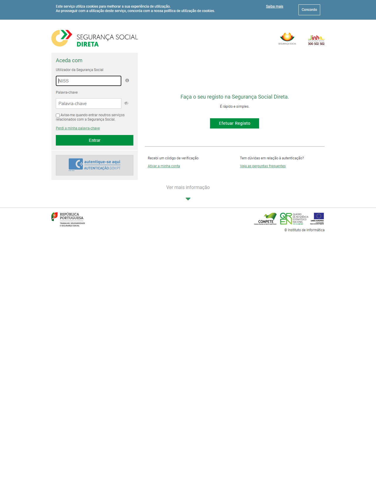 Screenshot Desktop - https://app.seg-social.pt/sso/login?service=https%3A%2F%2Fapp.seg-social.pt%2Fptss%2Fcaslogin