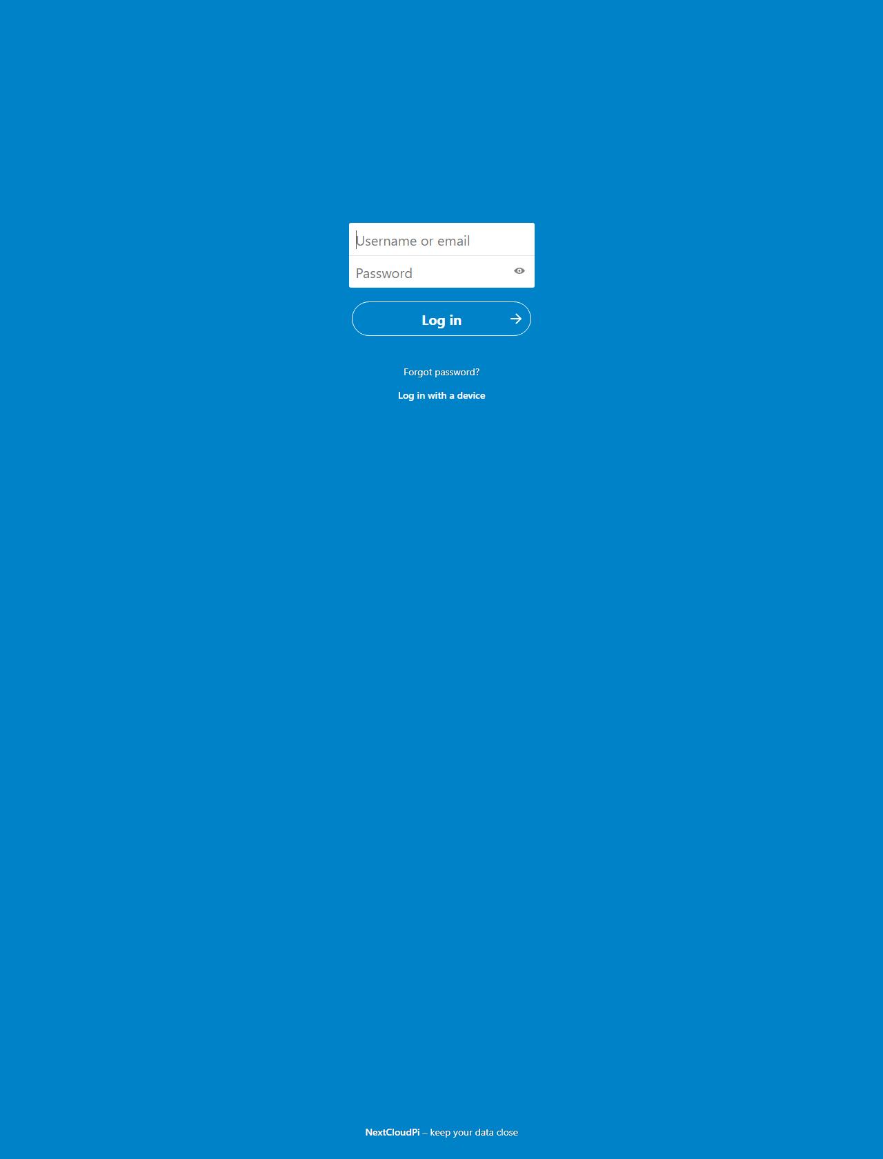 Screenshot Desktop - https://bananowachmura.ddns.net/index.php/login