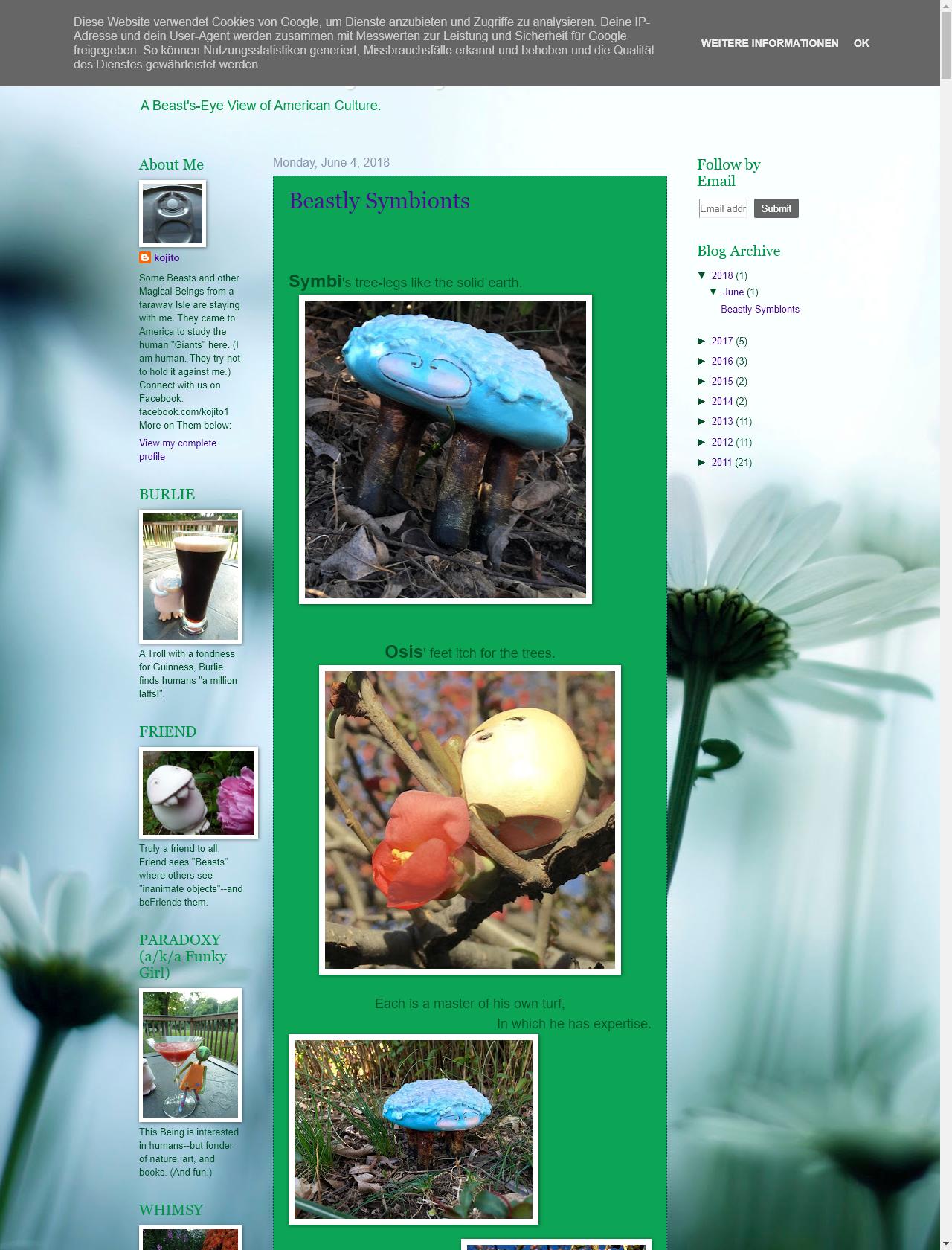 Screenshot Desktop - https://beastlyday.blogspot.com/