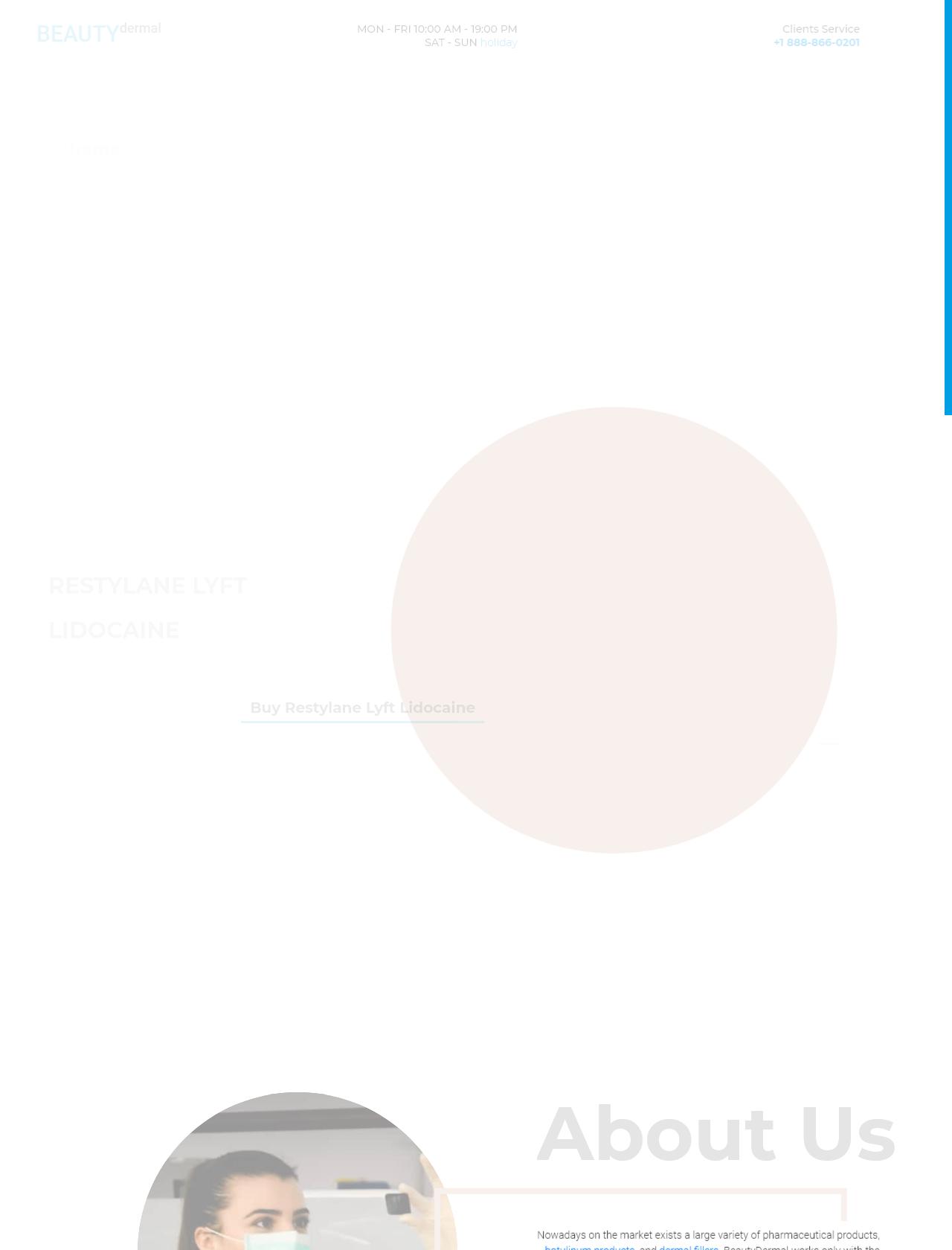 Screenshot Desktop - https://beautydermal.com/