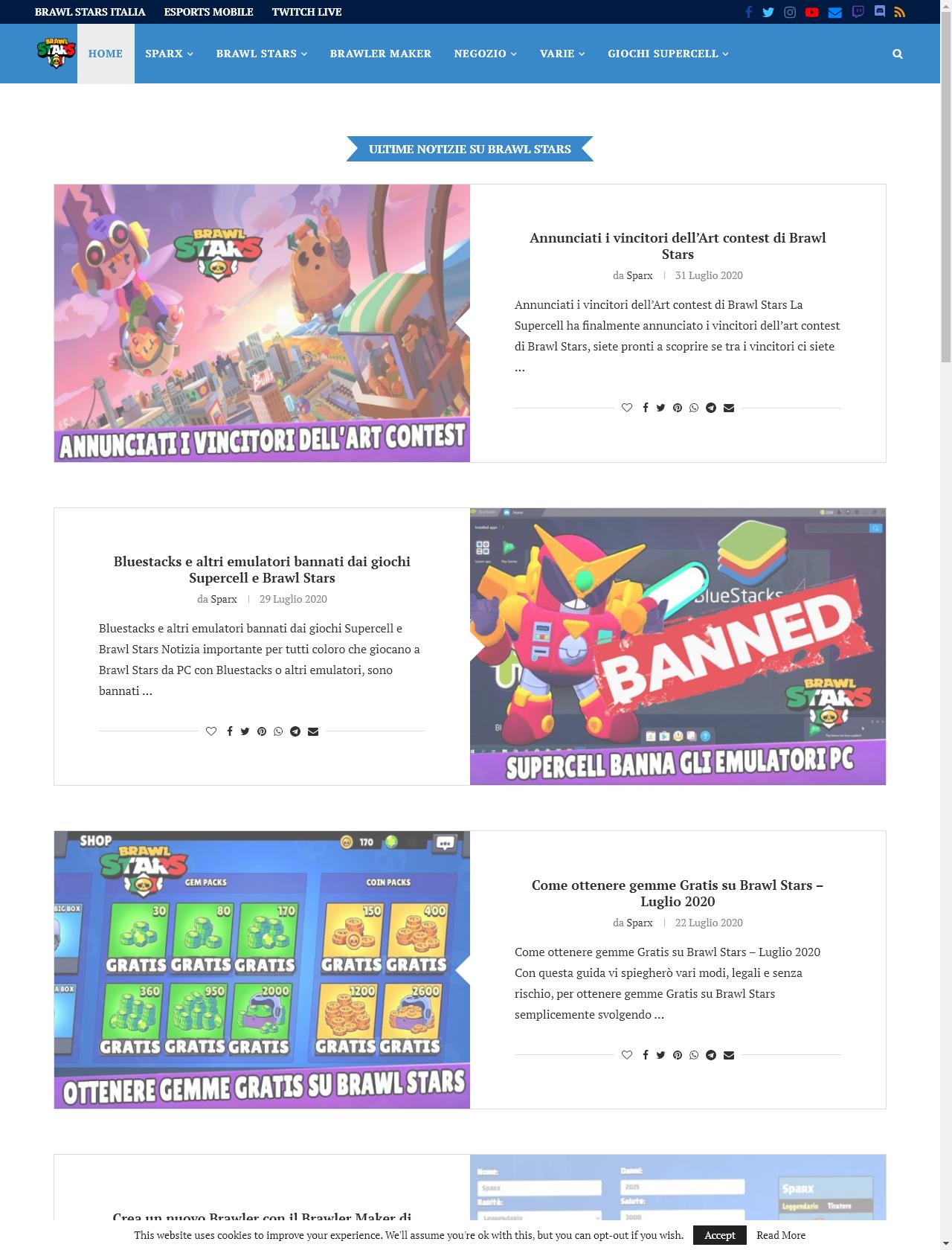 Screenshot Desktop - https://www.brawlstarsitalia.com/