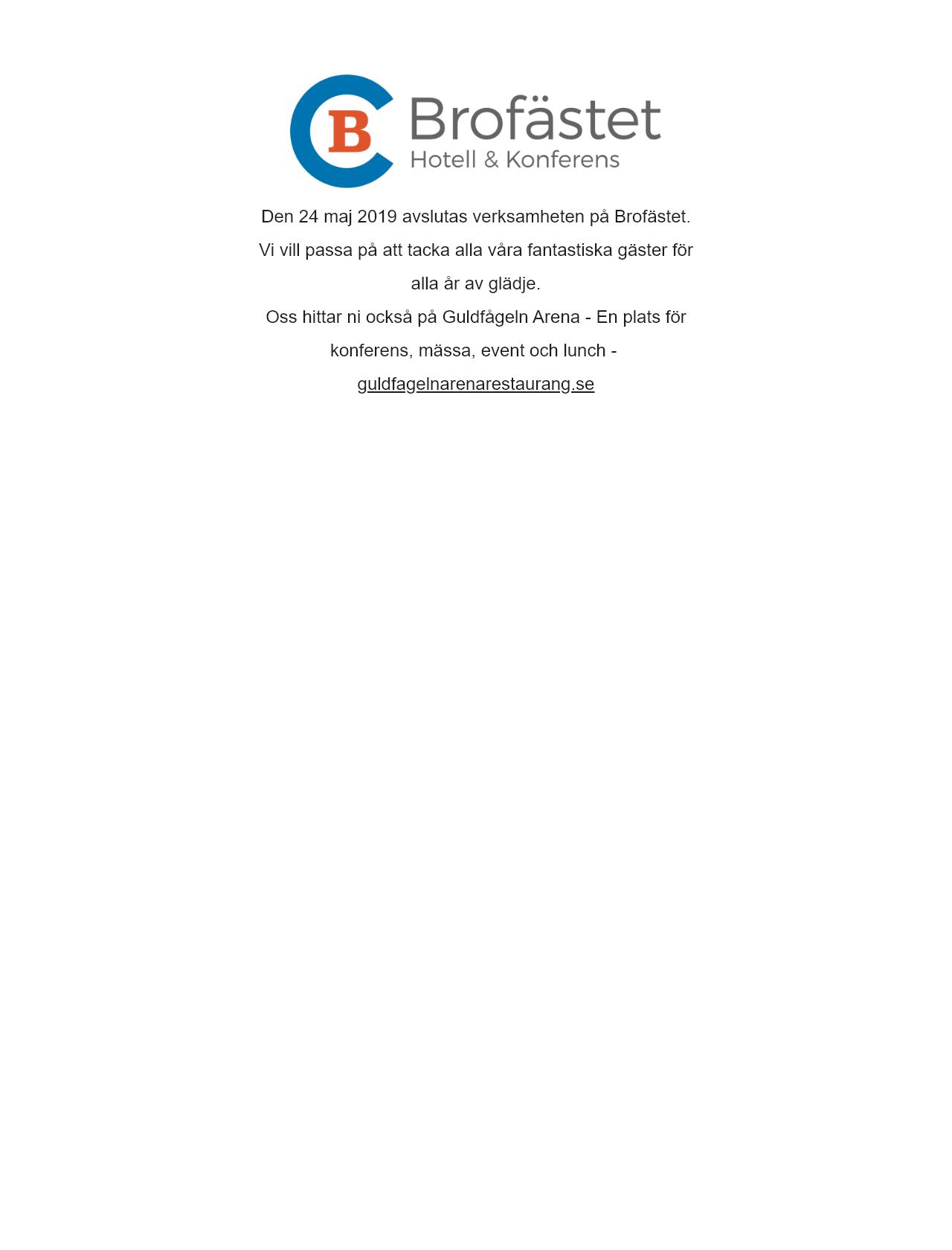 Screenshot Desktop - https://brofastet.se/