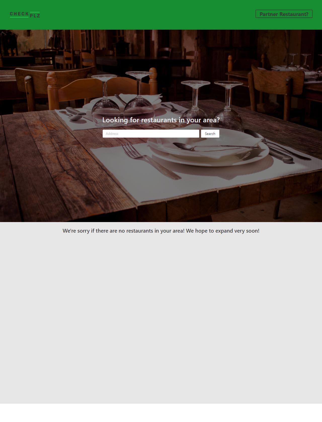 Screenshot Desktop - https://checkplz.app/#/