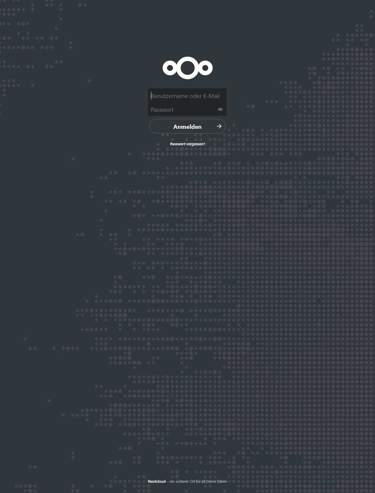Screenshot Desktop - https://cloud.krasuski.dk/index.php/login