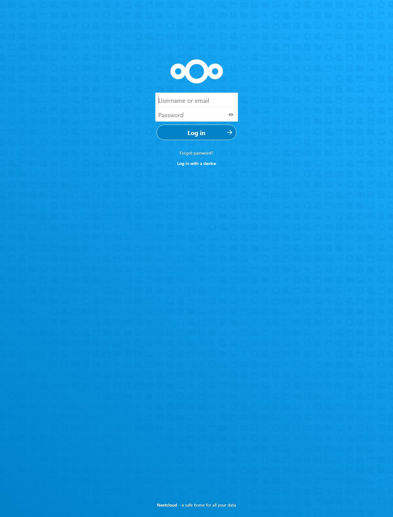 Screenshot Desktop - https://cloud.oolongradio.com/index.php/login