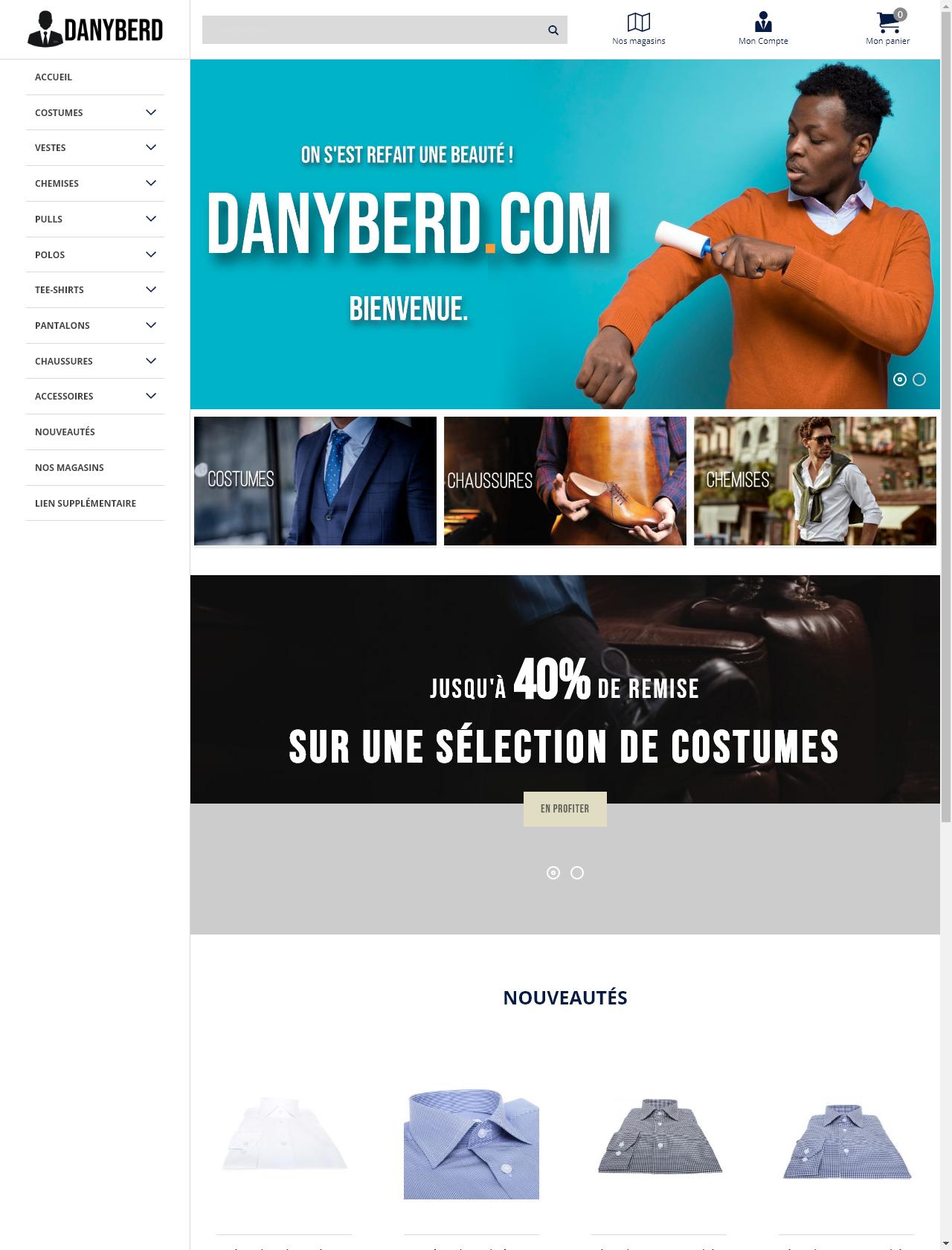 Screenshot Desktop - https://danyberd2.ziolek.fr/