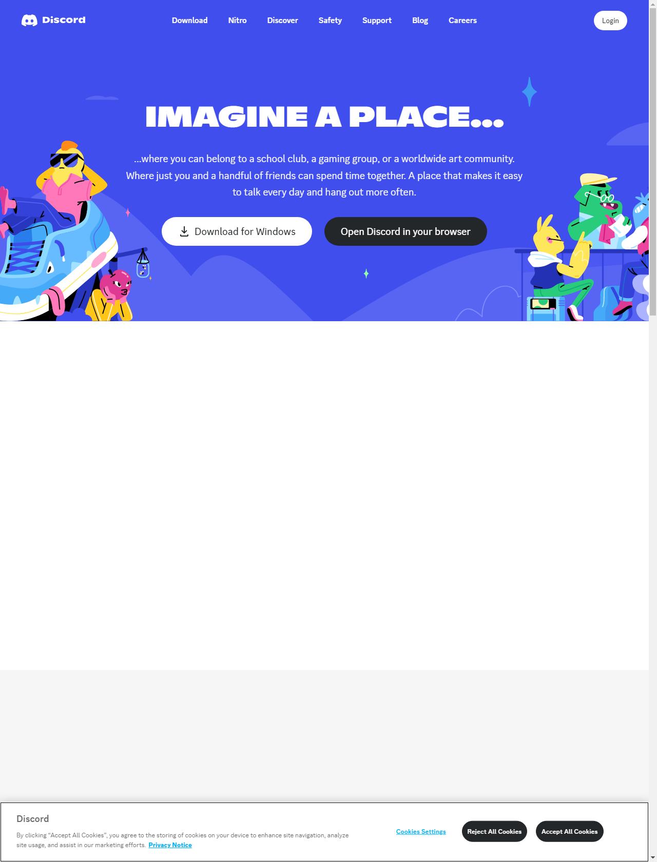 Screenshot Desktop - https://discord.com/
