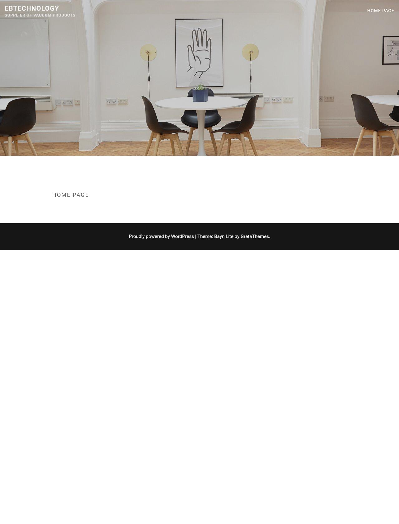 Screenshot Desktop - https://www.ebtech.co.za/