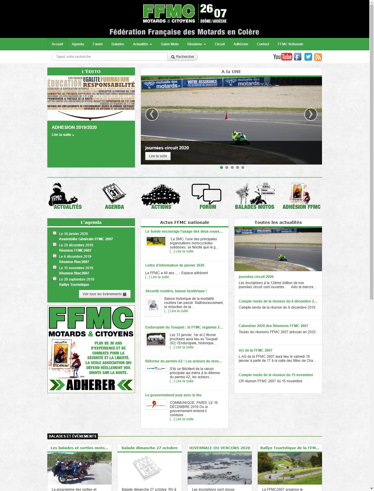 Screenshot Desktop - https://ffmc2607.org/