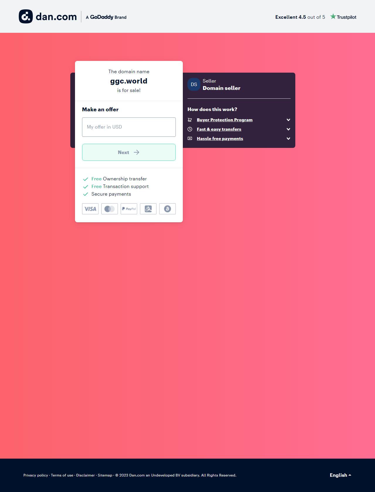 Screenshot Desktop - https://ggc.world/