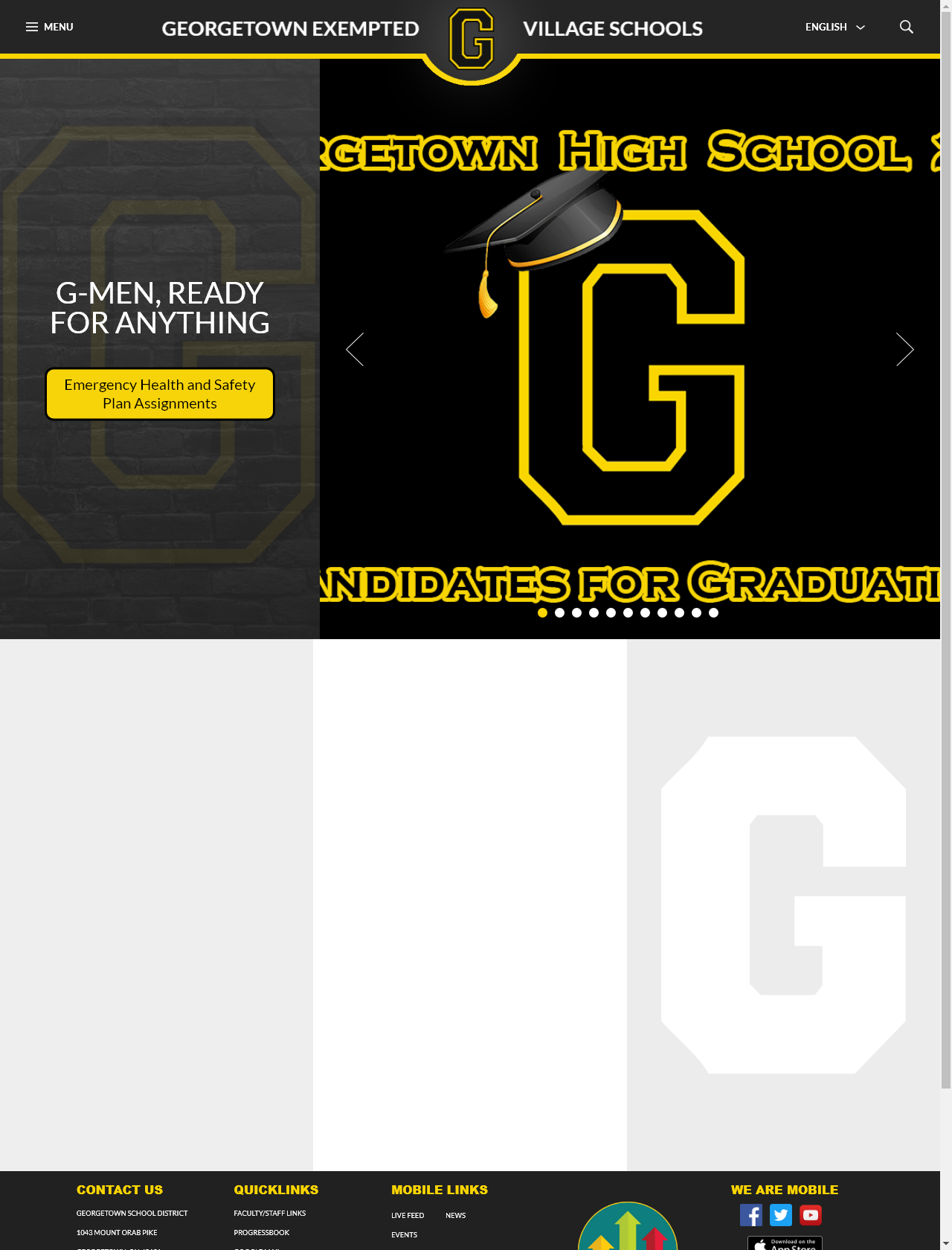 Screenshot Desktop - https://www.gtown.k12.oh.us/