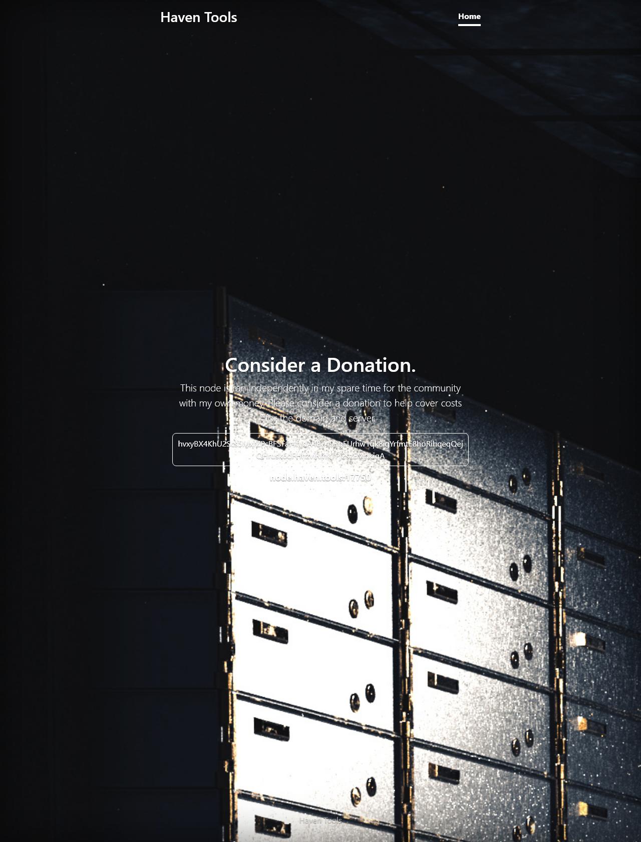 Screenshot Desktop - https://haven.tools/
