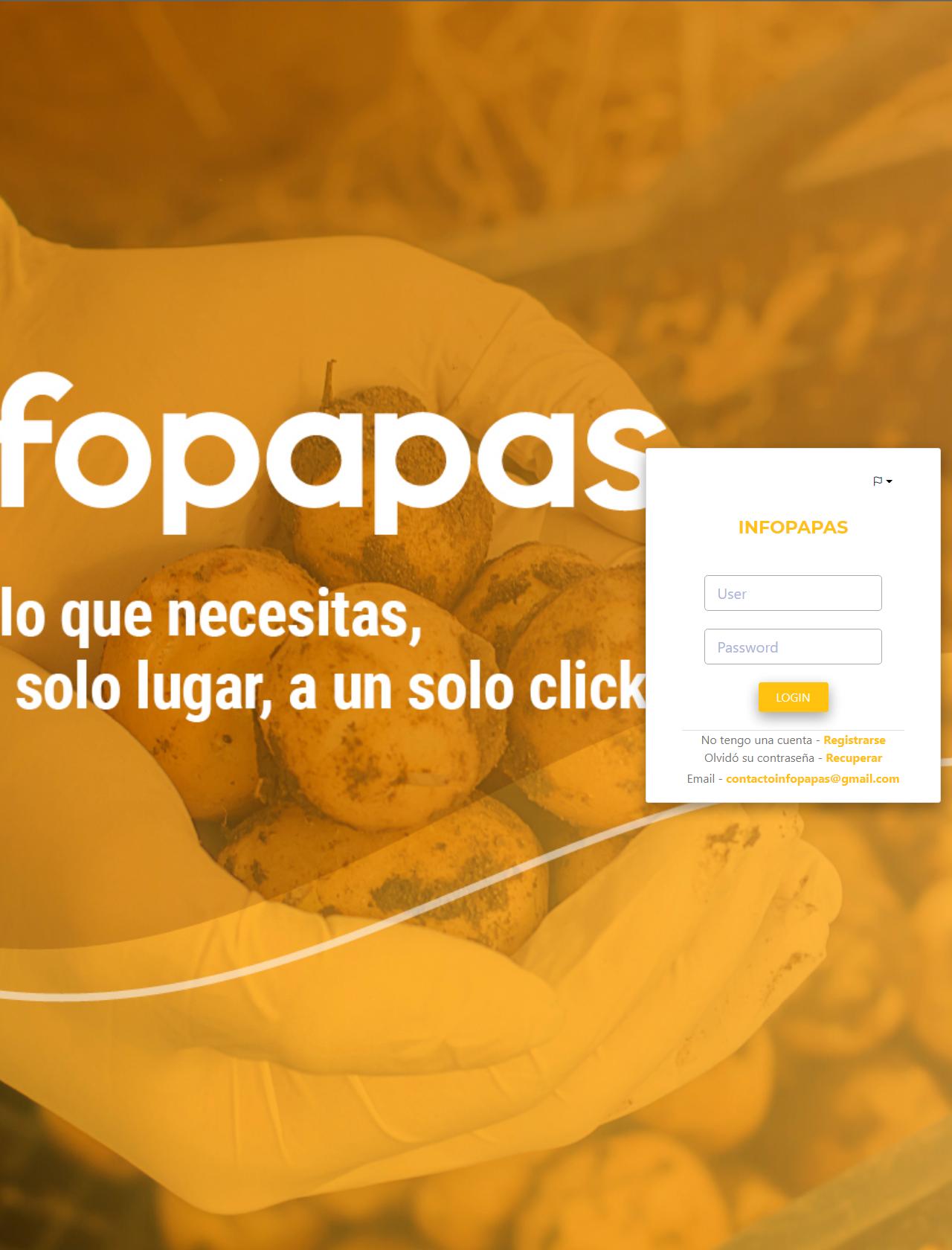 Screenshot Desktop - https://infopapas.com.ar/