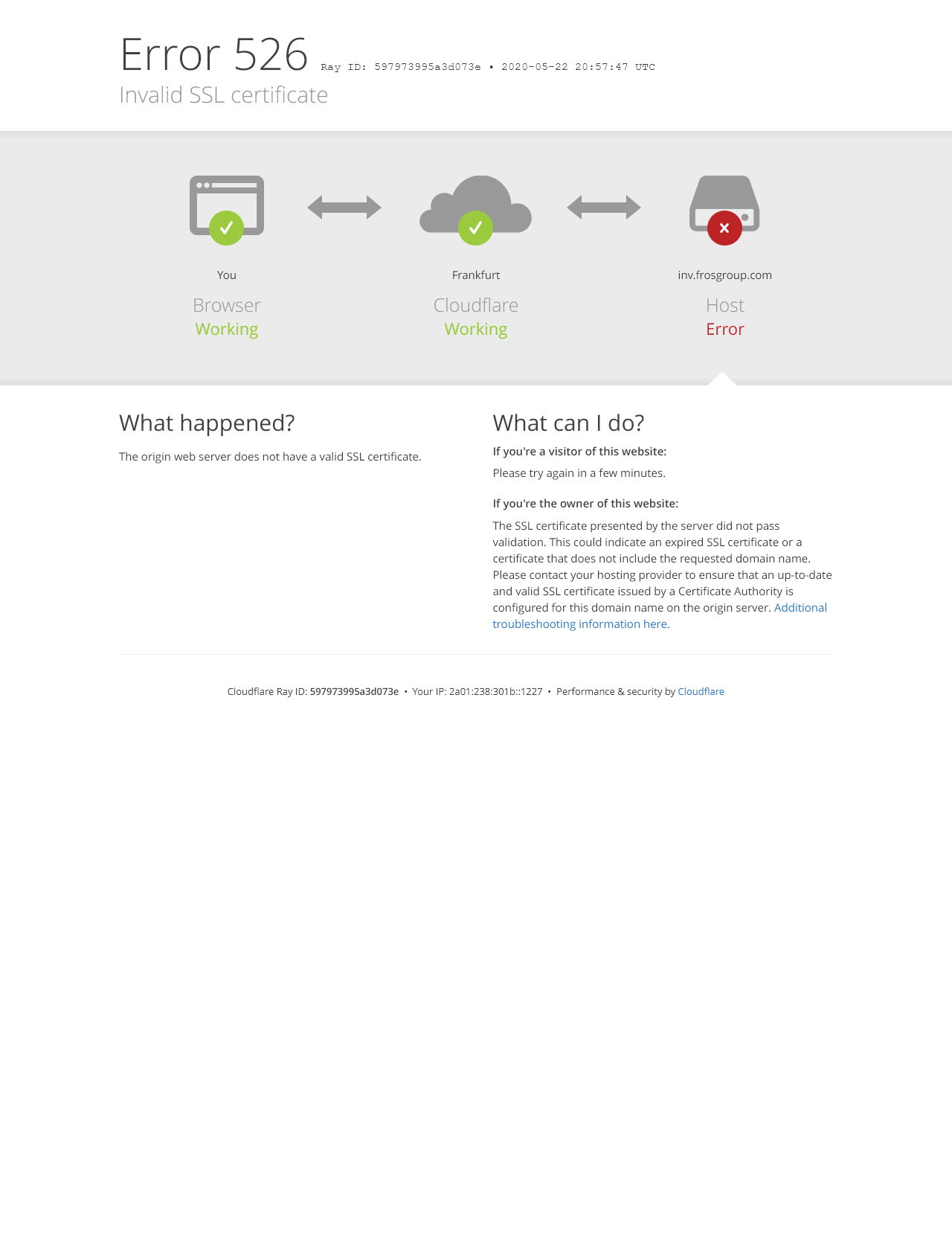 Screenshot Desktop - https://inv.frosgroup.com/