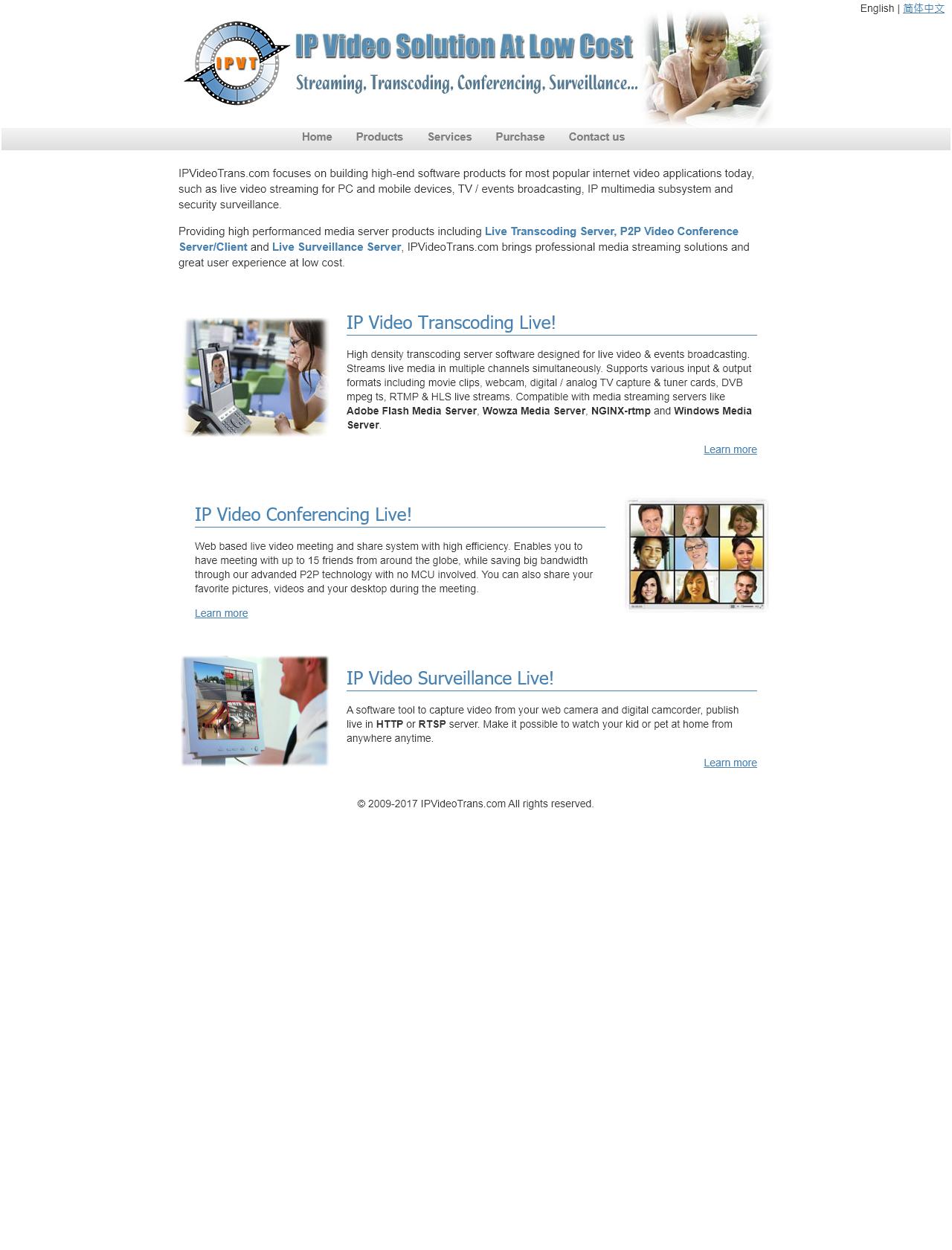 Screenshot Desktop - https://www.ipvideotrans.com/