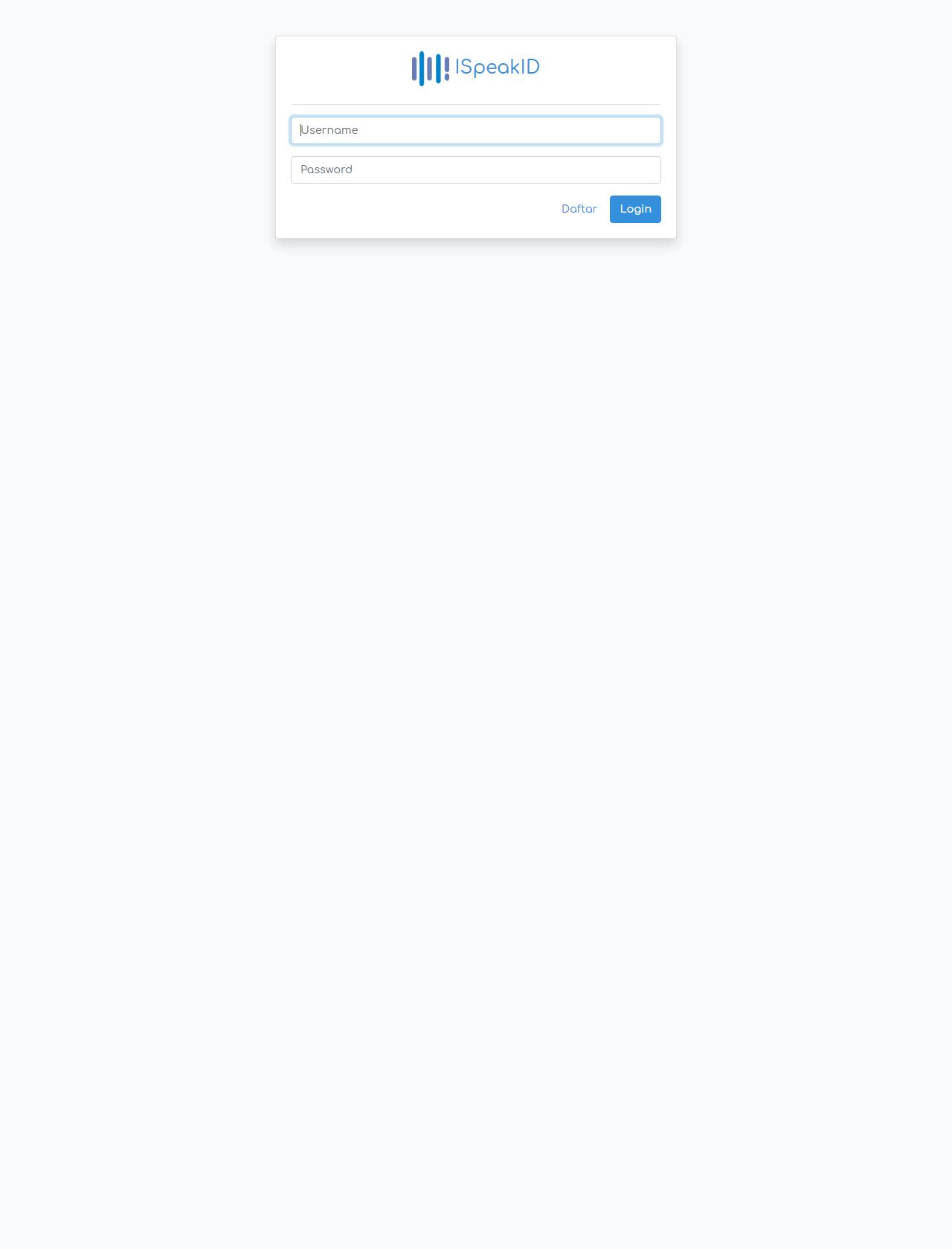 Screenshot Desktop - https://ispeak.id/