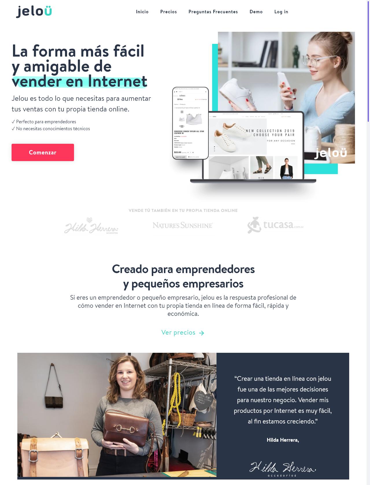 Screenshot Desktop - https://www.jelou.co/