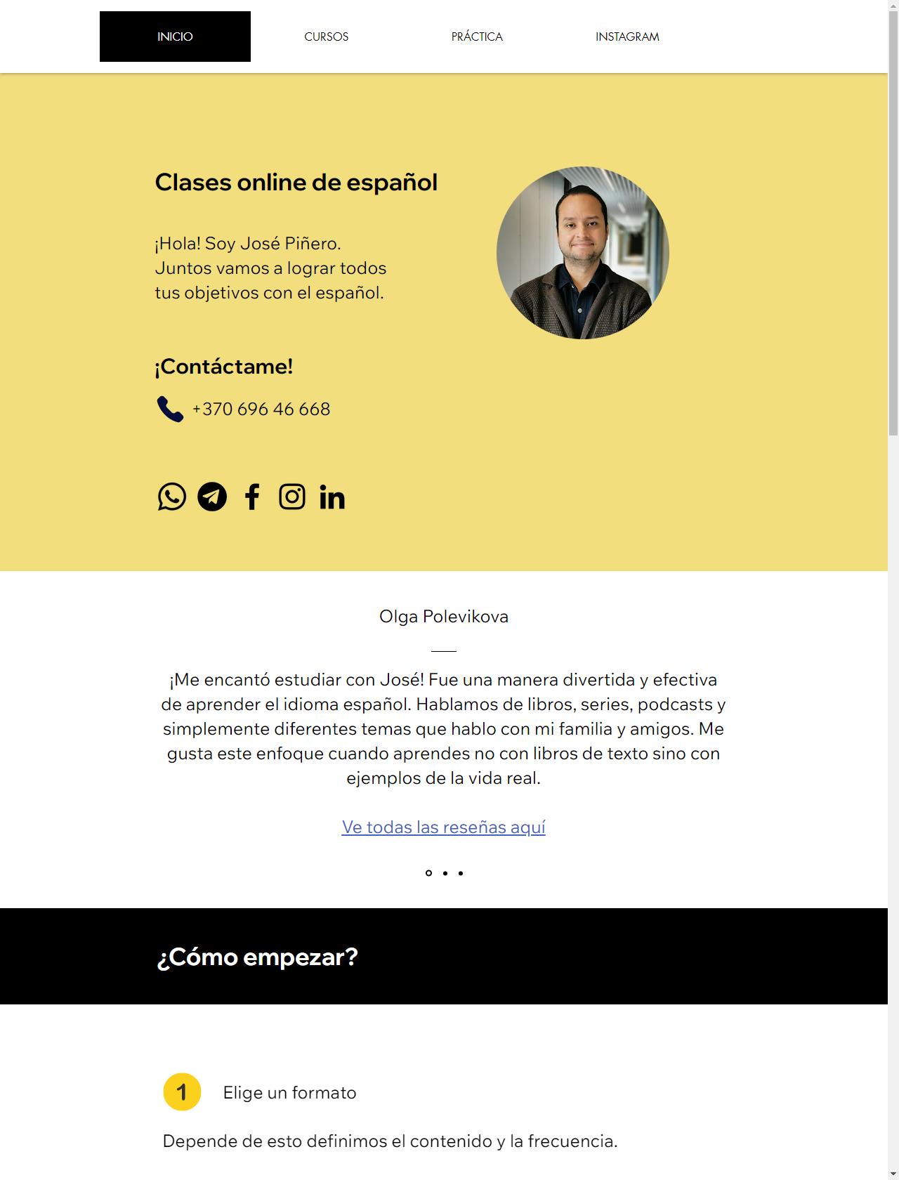 Screenshot Desktop - https://joserepetitor.com/