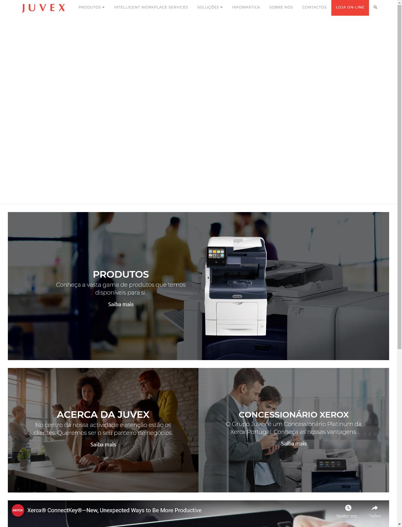 Screenshot Desktop - https://juvex.pt/