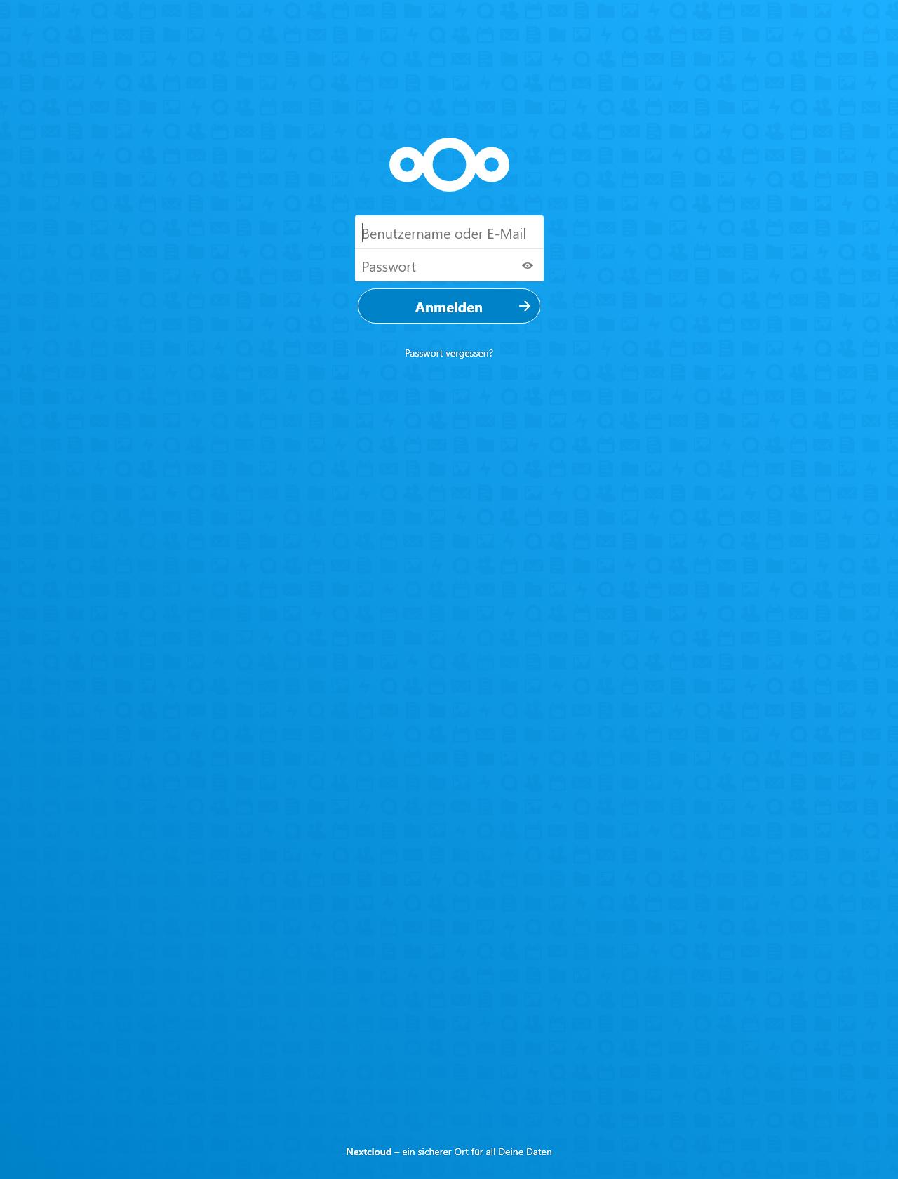 Screenshot Desktop - https://kreutzer.dns.army/login