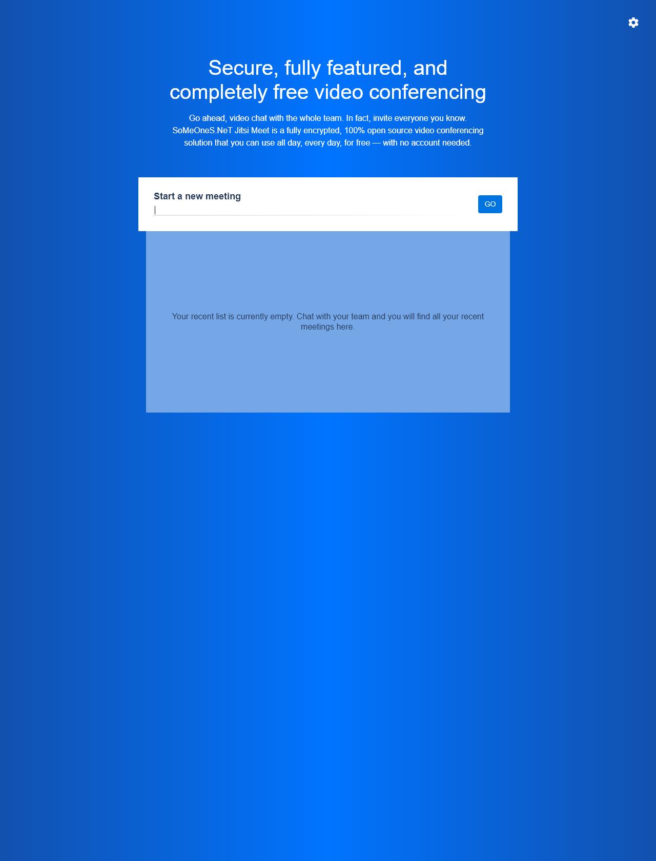 Screenshot Desktop - https://meeting.someones.net/