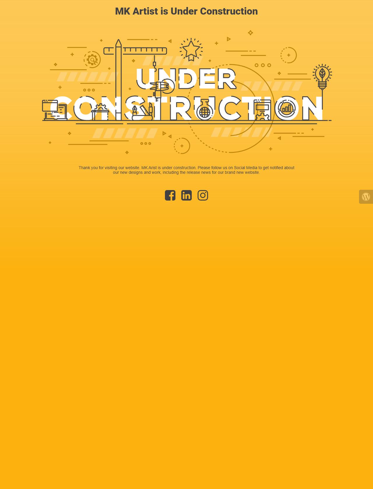 Screenshot Desktop - https://mkartist.co/