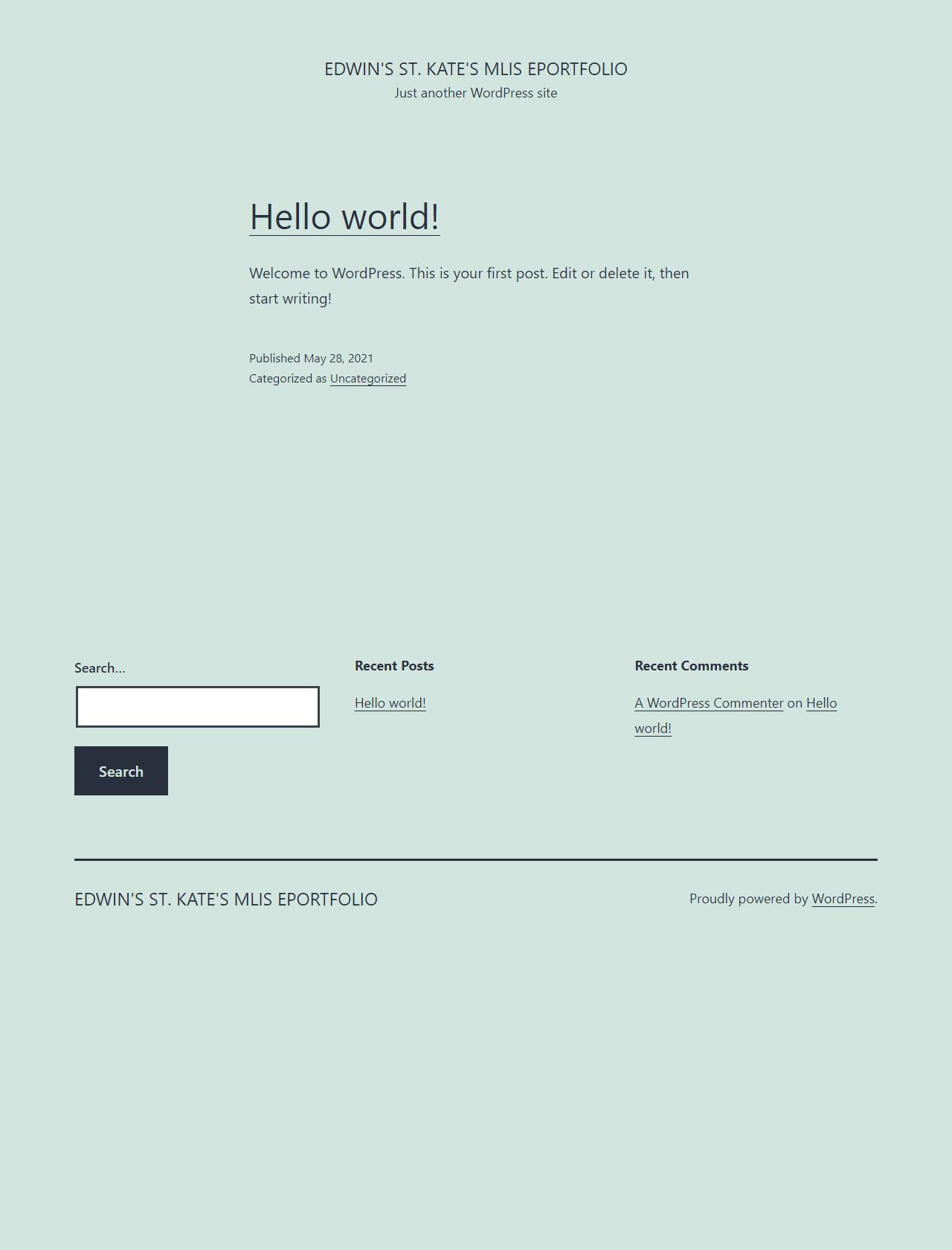 Screenshot Desktop - https://mlis.edwinschenk.com/