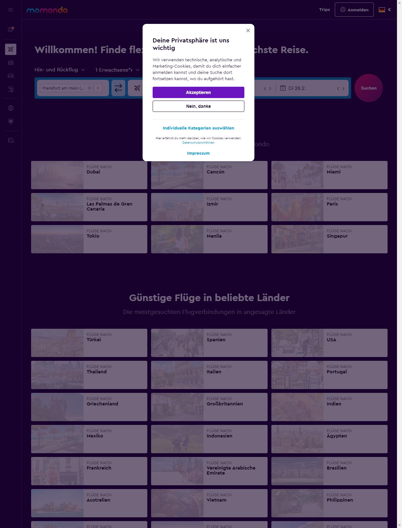 momondo.com   Make your website better   DNS, redirects, mixed ...