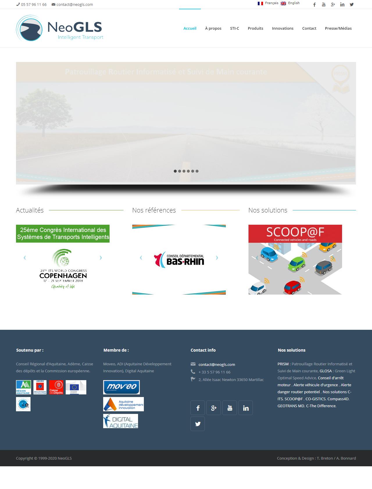Screenshot Desktop - https://www.neogls.com/