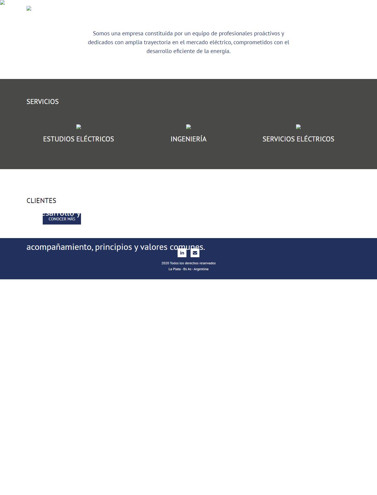 Screenshot Desktop - https://norteingenieria.com.ar/