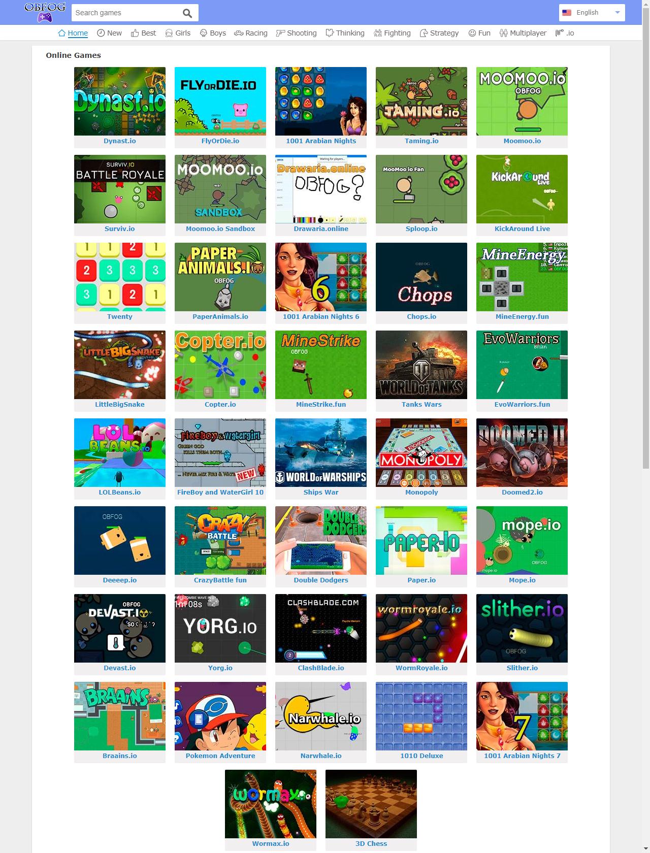 Screenshot Desktop - https://obfog.com/