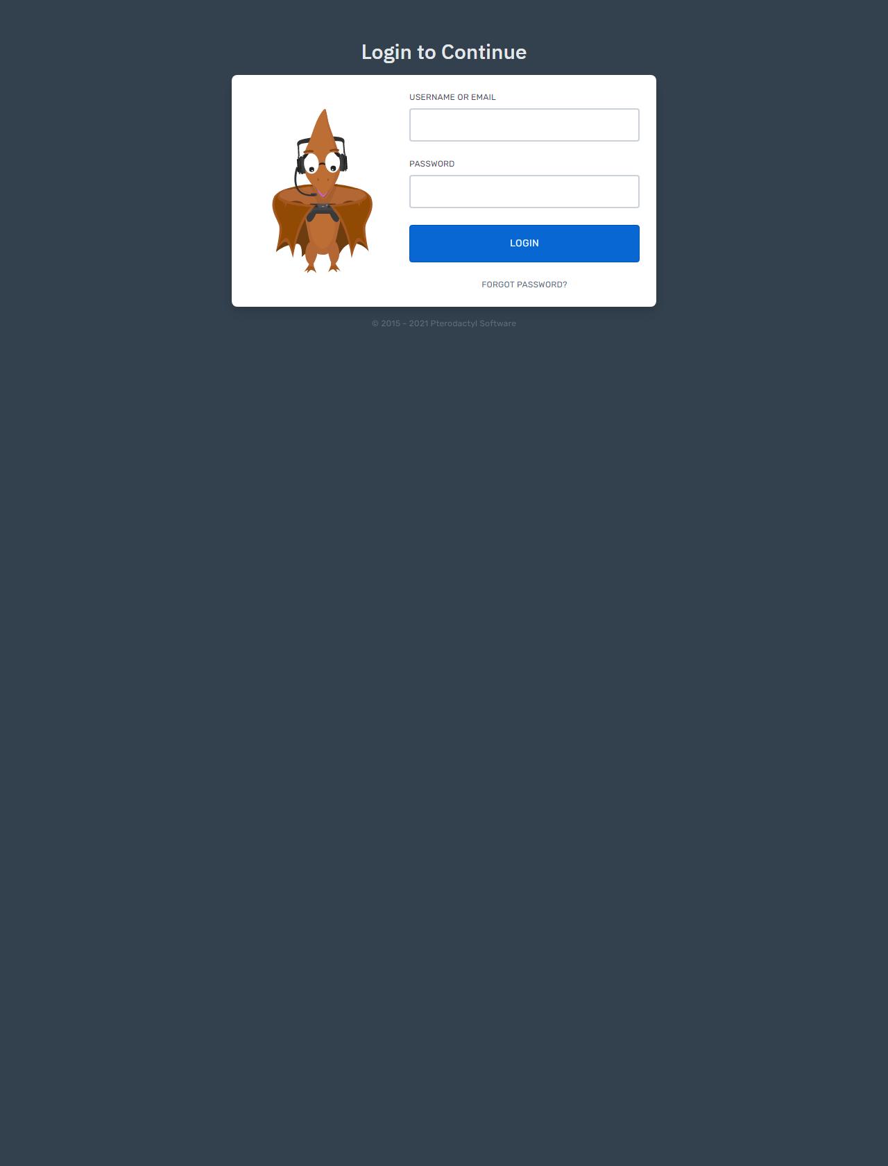 Screenshot Desktop - https://panel.meltox-craft.gq/auth/login