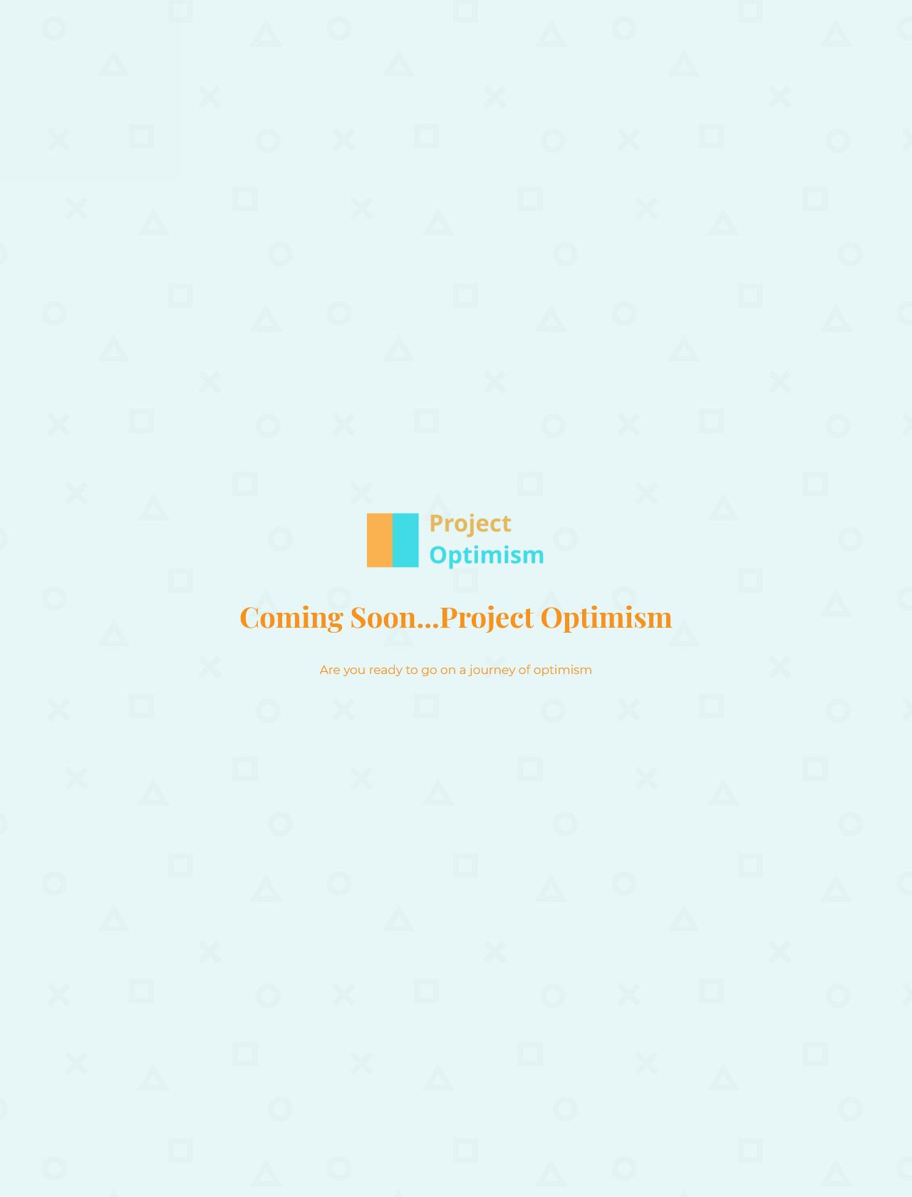 Screenshot Desktop - https://www.projectoptimism.com.au/