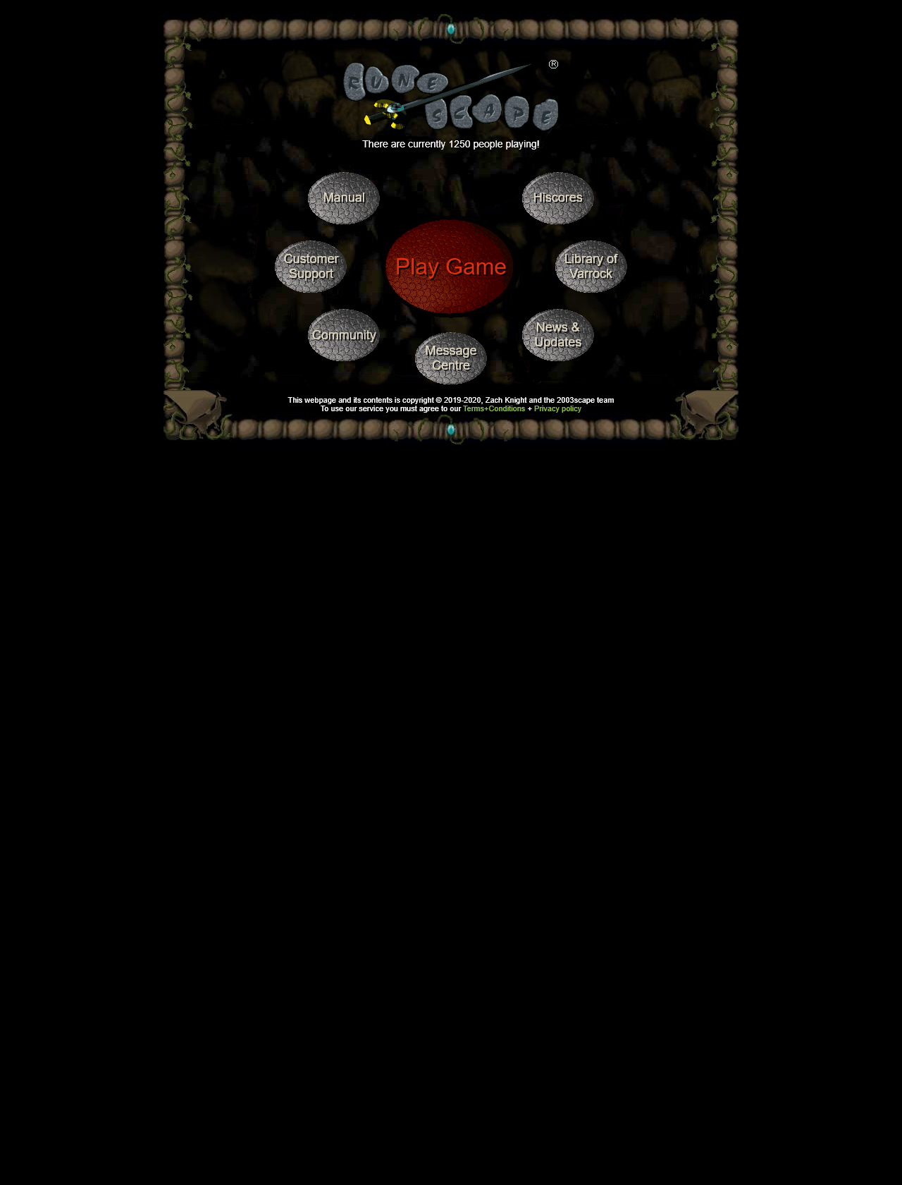 Screenshot Desktop - https://rscturmoil.com/