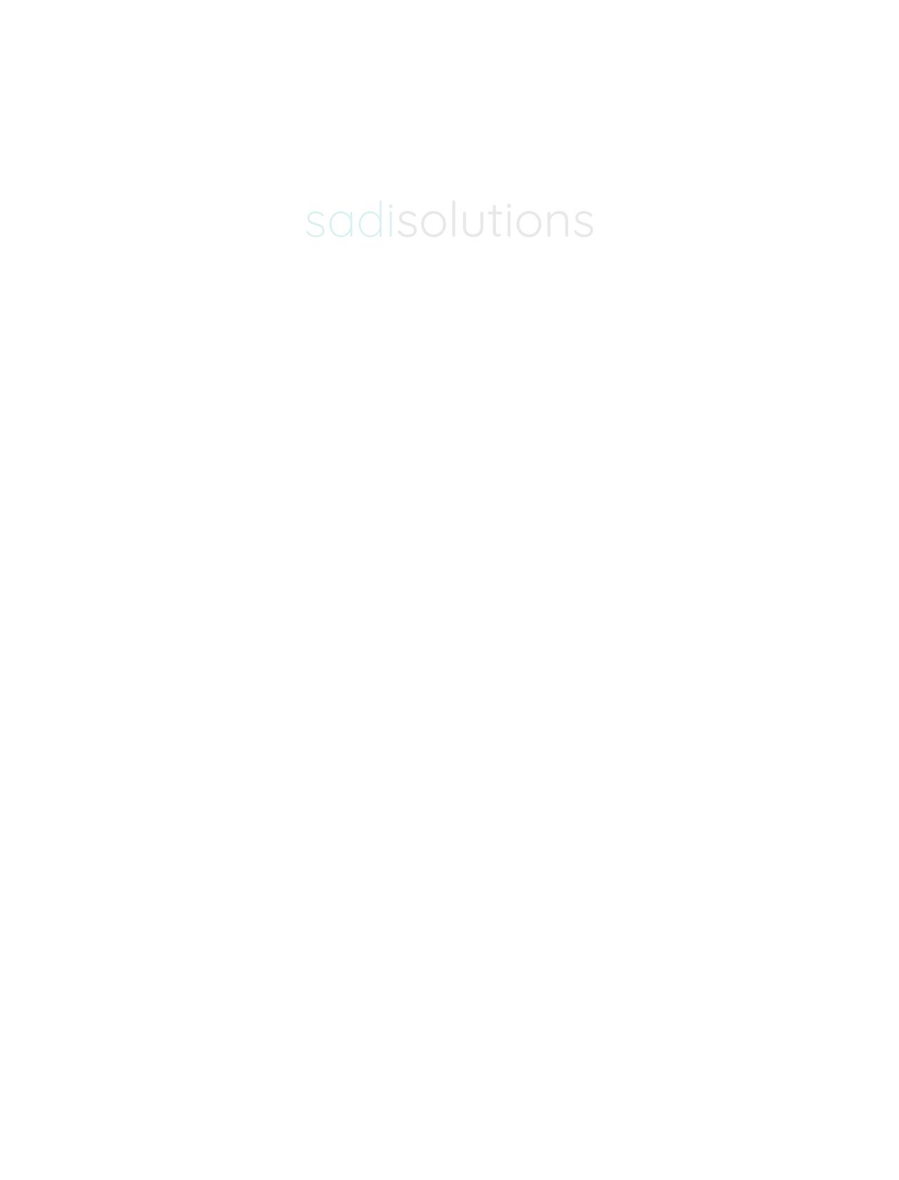 Screenshot Desktop - https://www.sadisolutions.de/