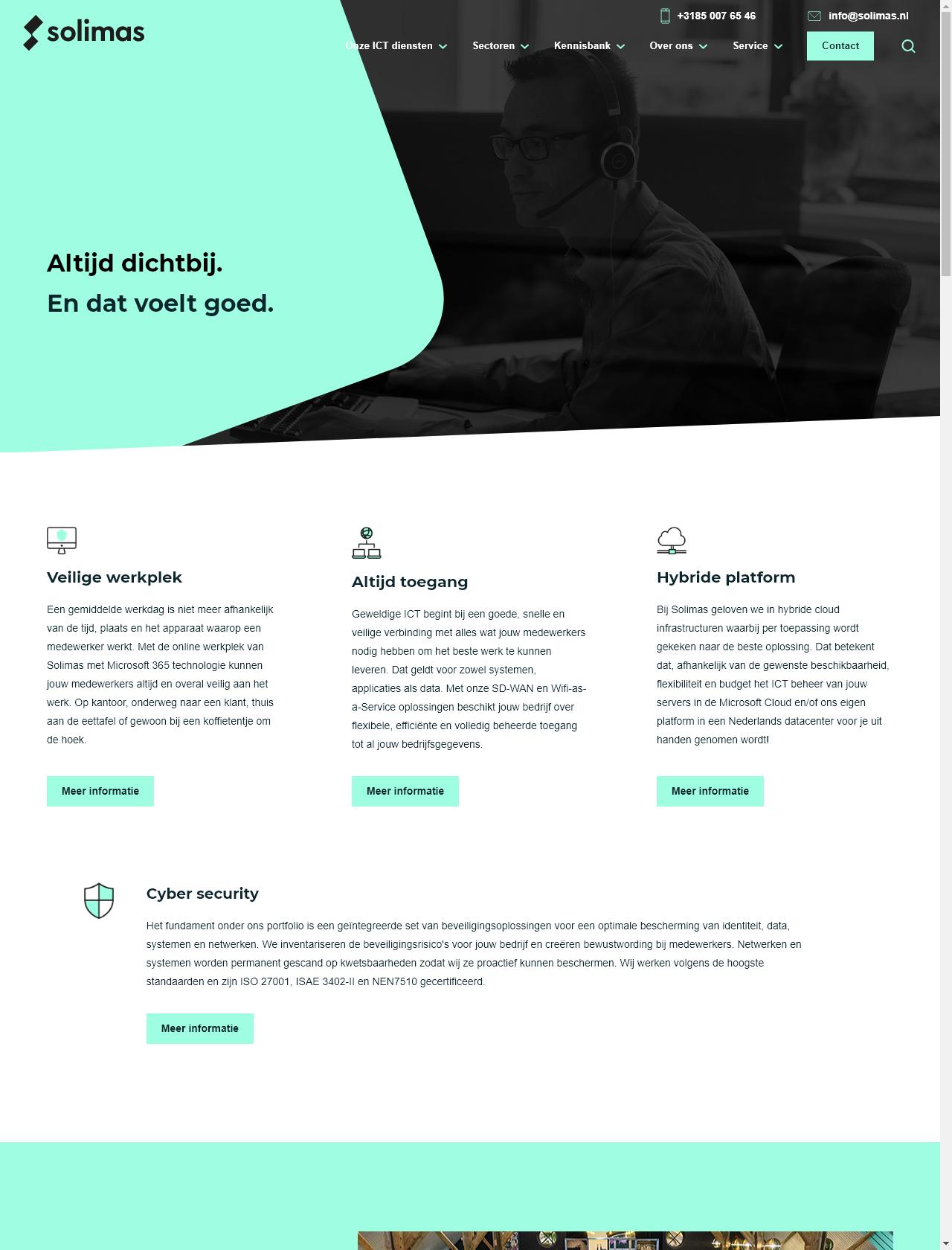 Screenshot Desktop - https://www.solimas.nl/