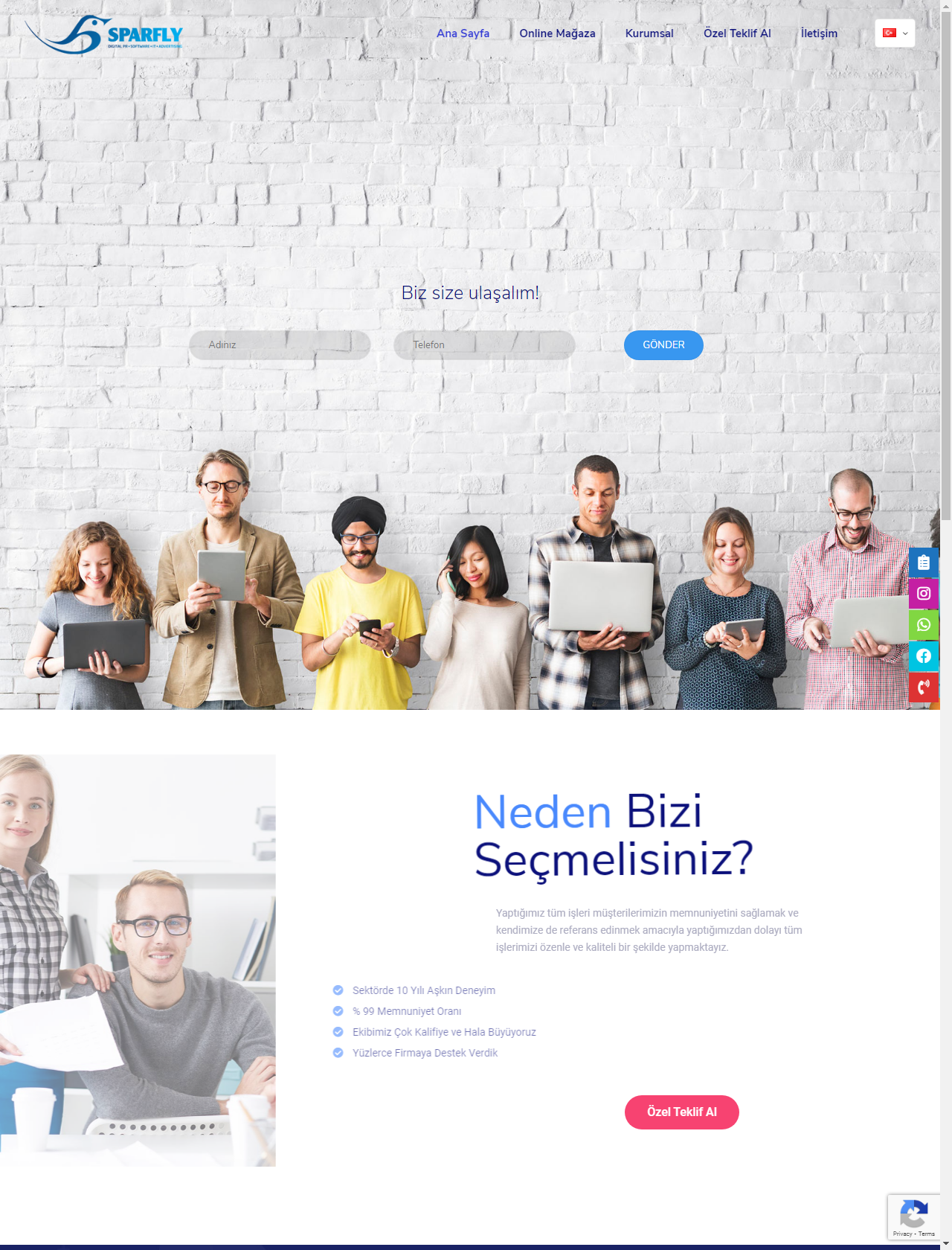 Screenshot Desktop - https://sparfly.com.tr/