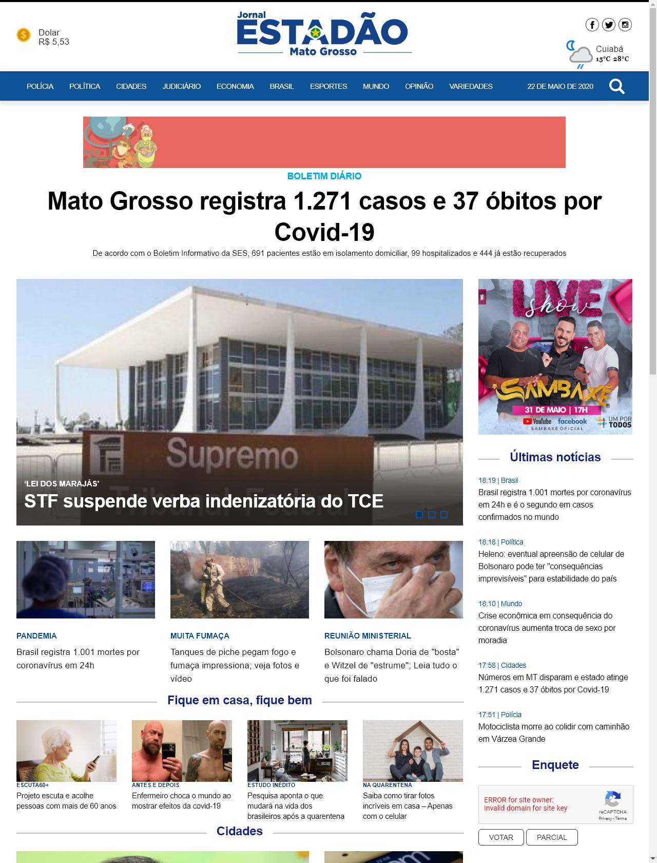 Screenshot Desktop - https://www.tractorparts.com.br/