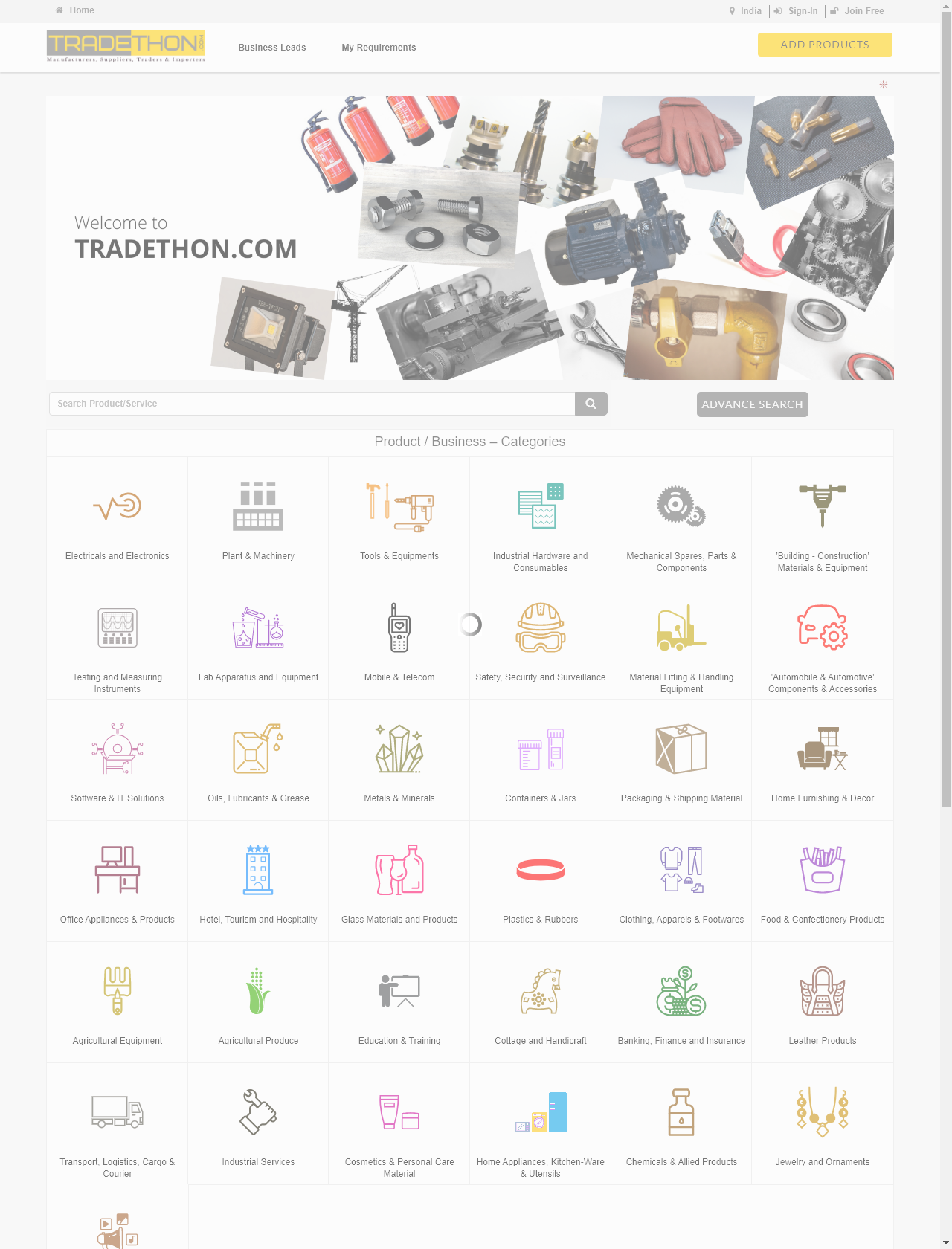 Screenshot Desktop - https://www.tradethon.com/