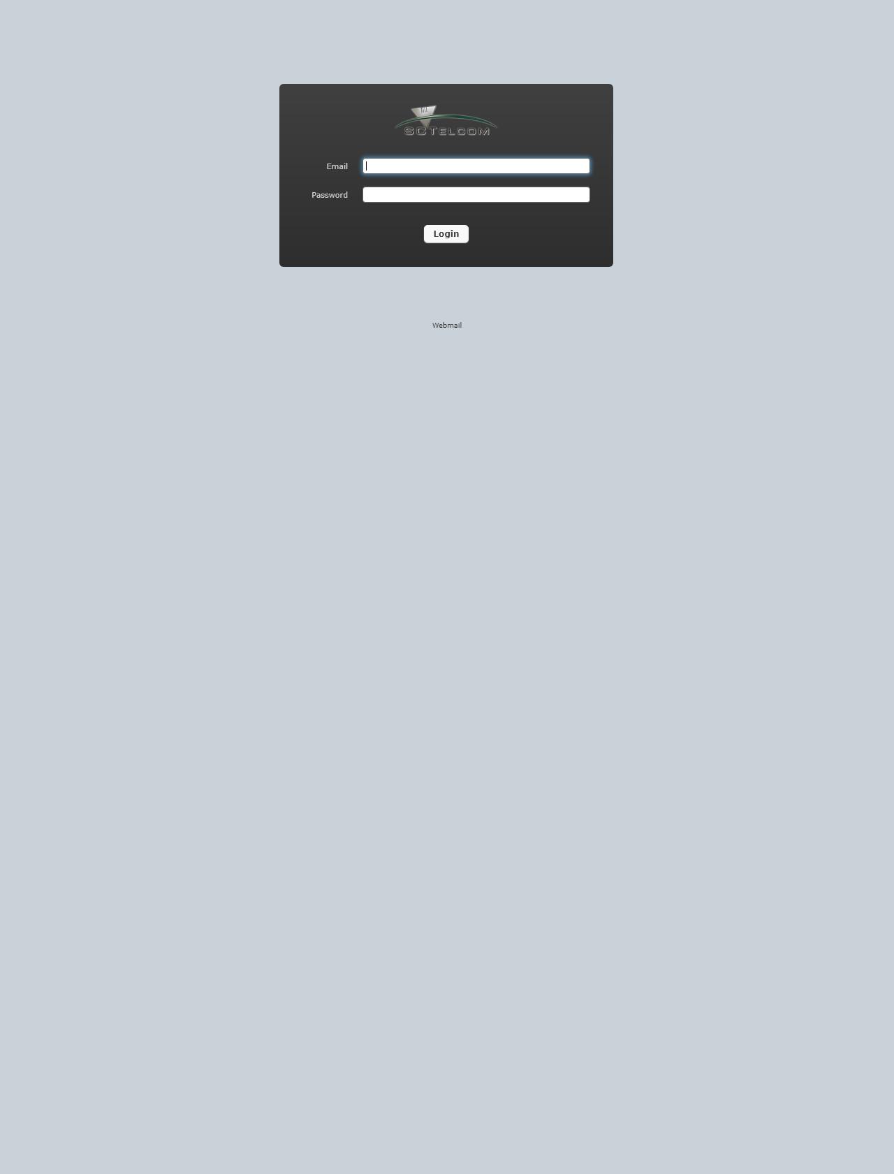 Screenshot Desktop - https://userportal.sctelcom.net/