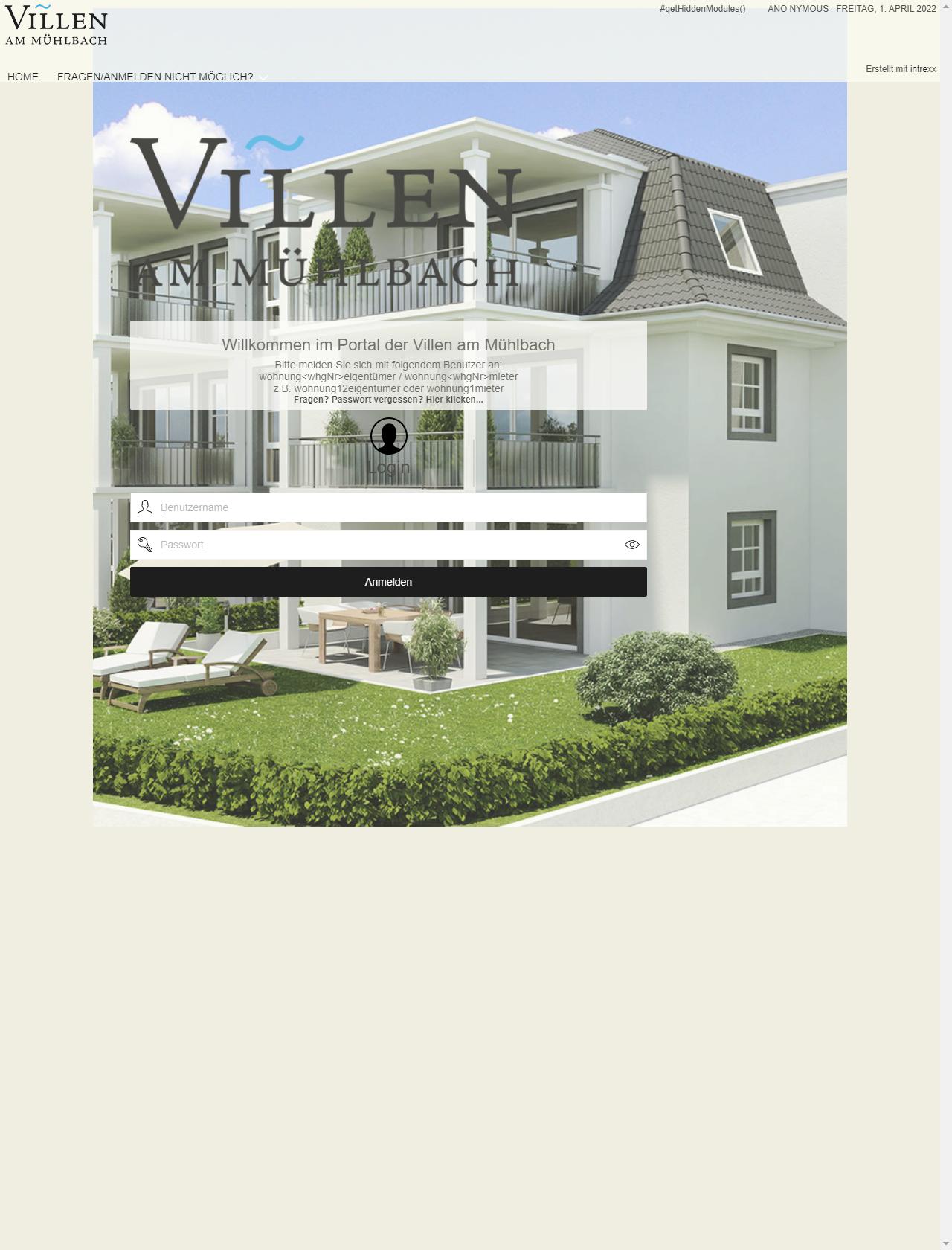 Screenshot Desktop - https://vam-teningen.de/