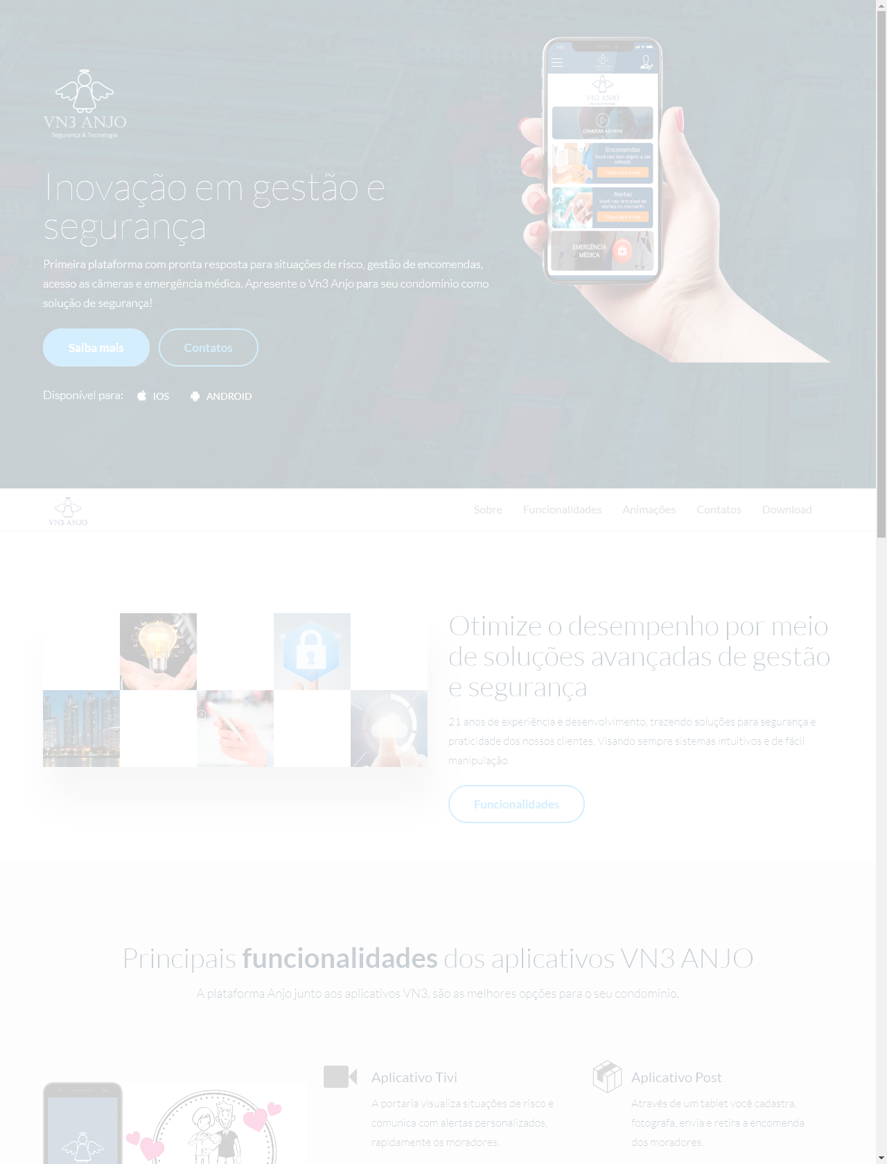 Screenshot Desktop - https://vn3anjo.com.br/br/